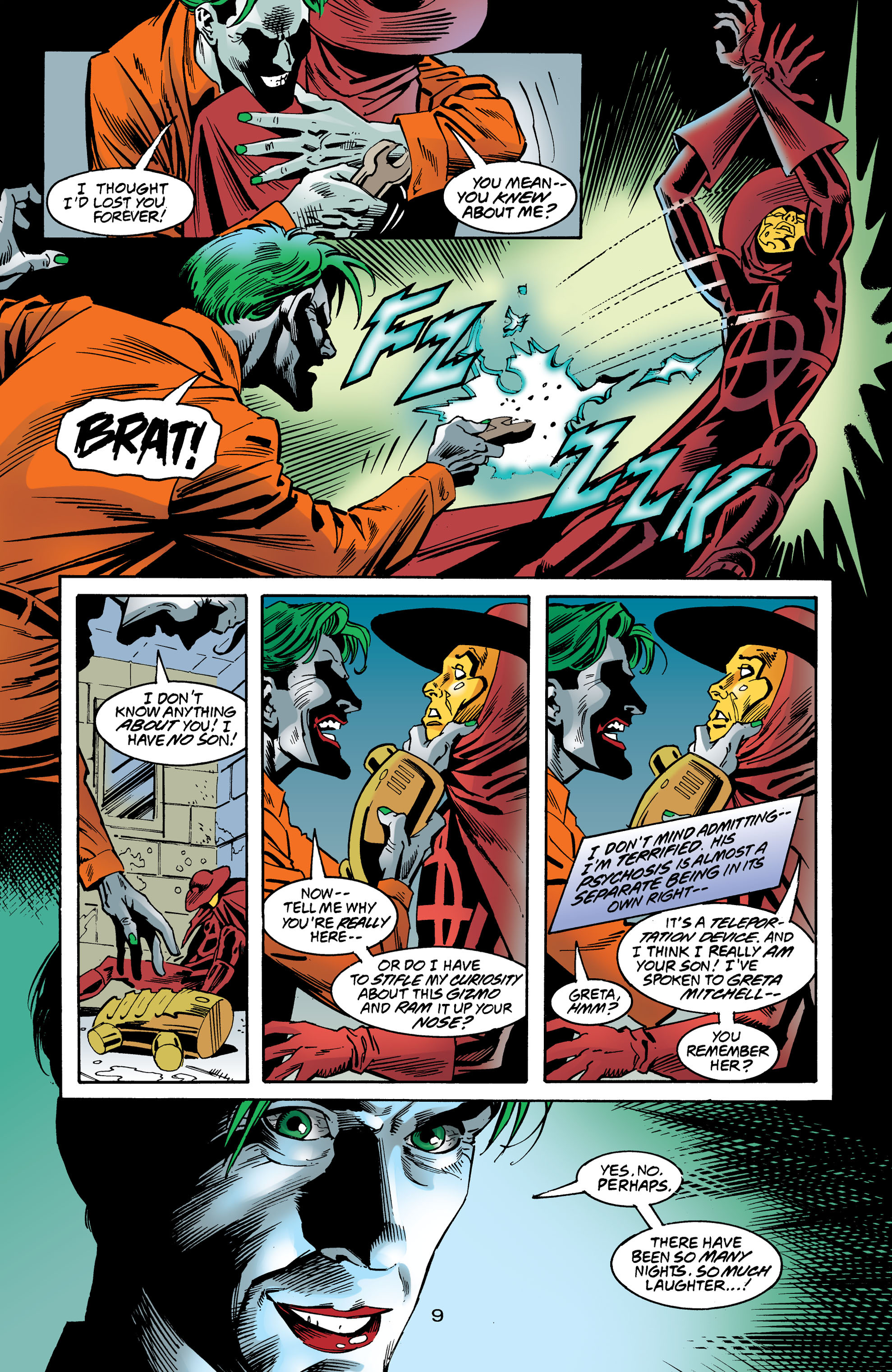 Read online Anarky (1999) comic -  Issue #8 - 10