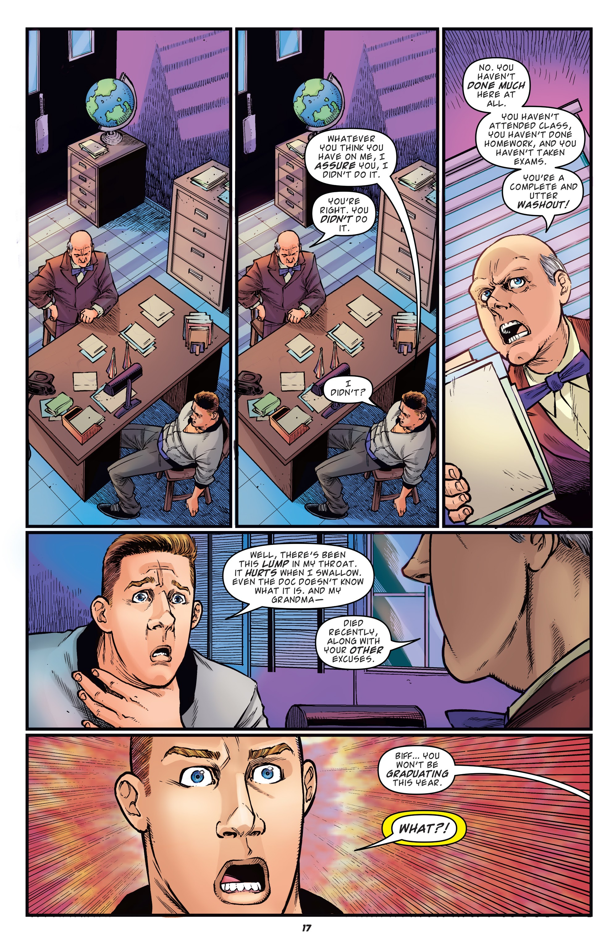 Read online Back to the Future: Biff to the Future comic -  Issue #1 - 19