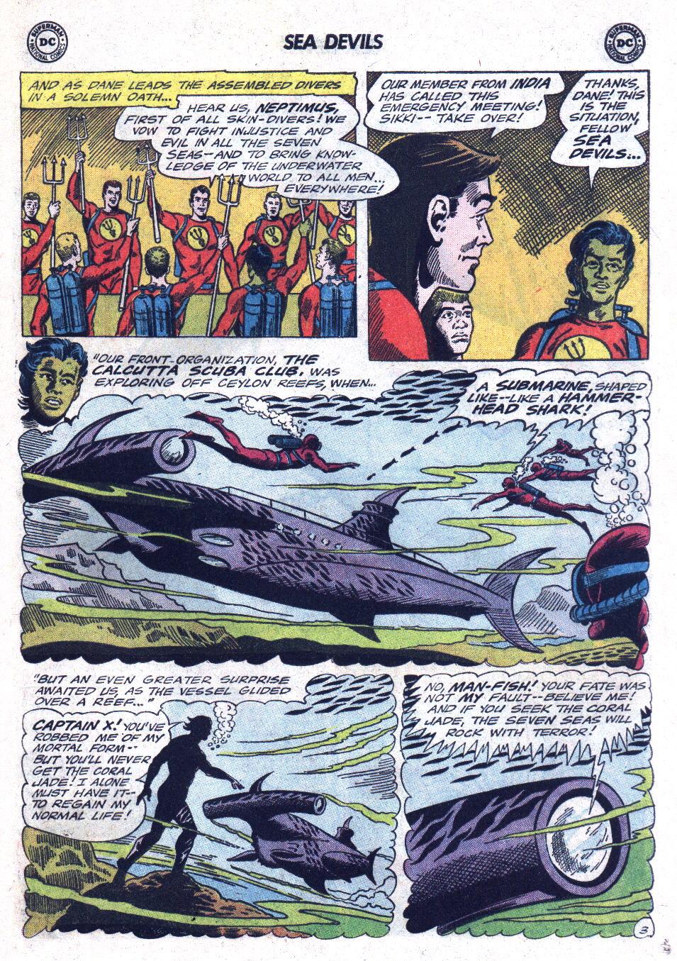 Read online Sea Devils comic -  Issue #22 - 5