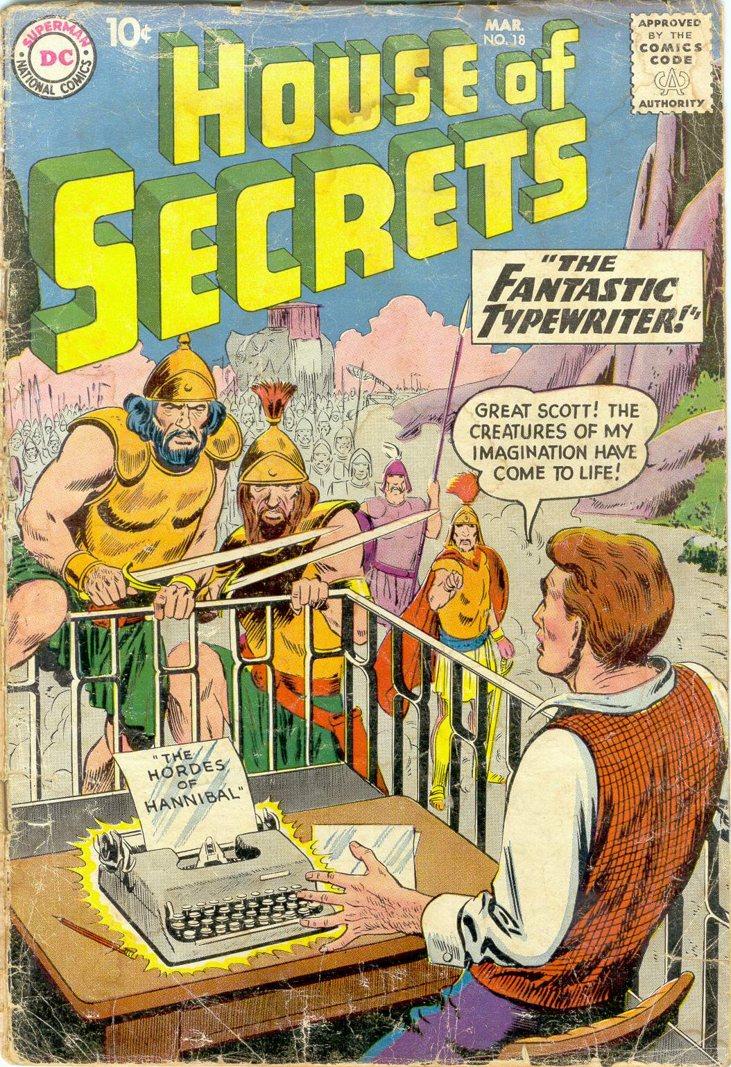House of Secrets (1956) issue 18 - Page 1