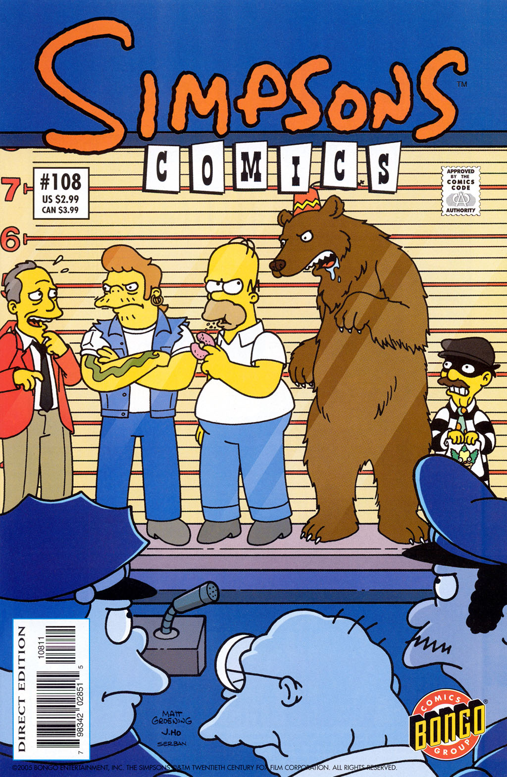 Read online Simpsons Comics comic -  Issue #108 - 1