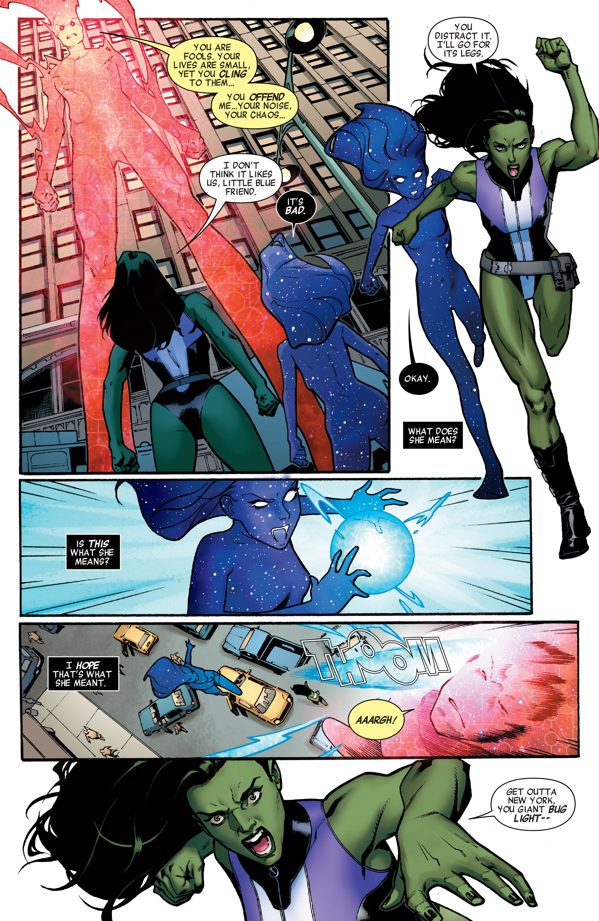 Read online A-Force (2016) comic -  Issue #1 - 19