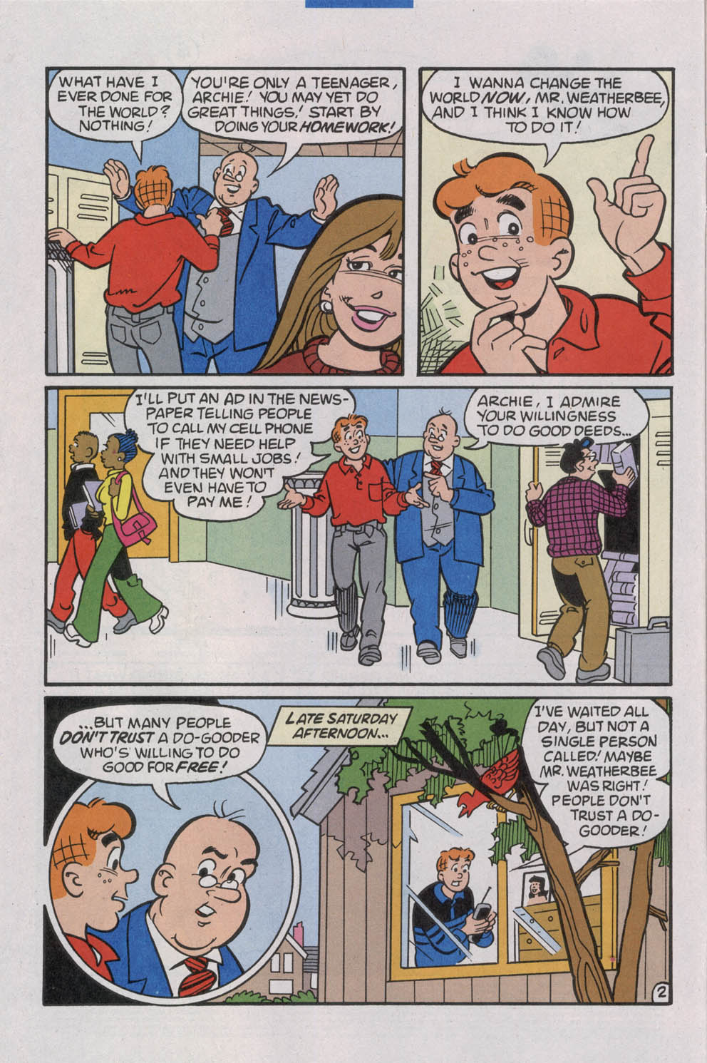 Read online Archie (1960) comic -  Issue #535 - 4