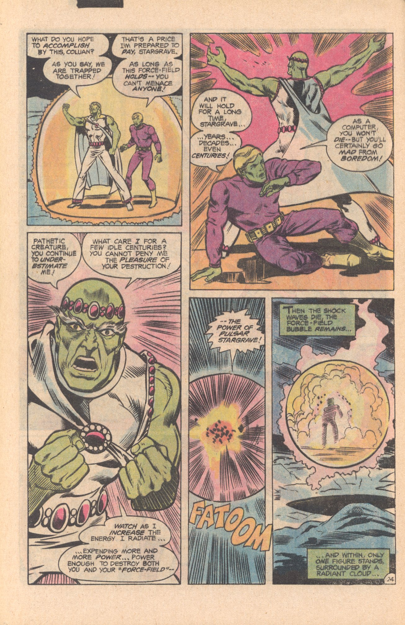 Legion of Super-Heroes (1980) 273 Page 24