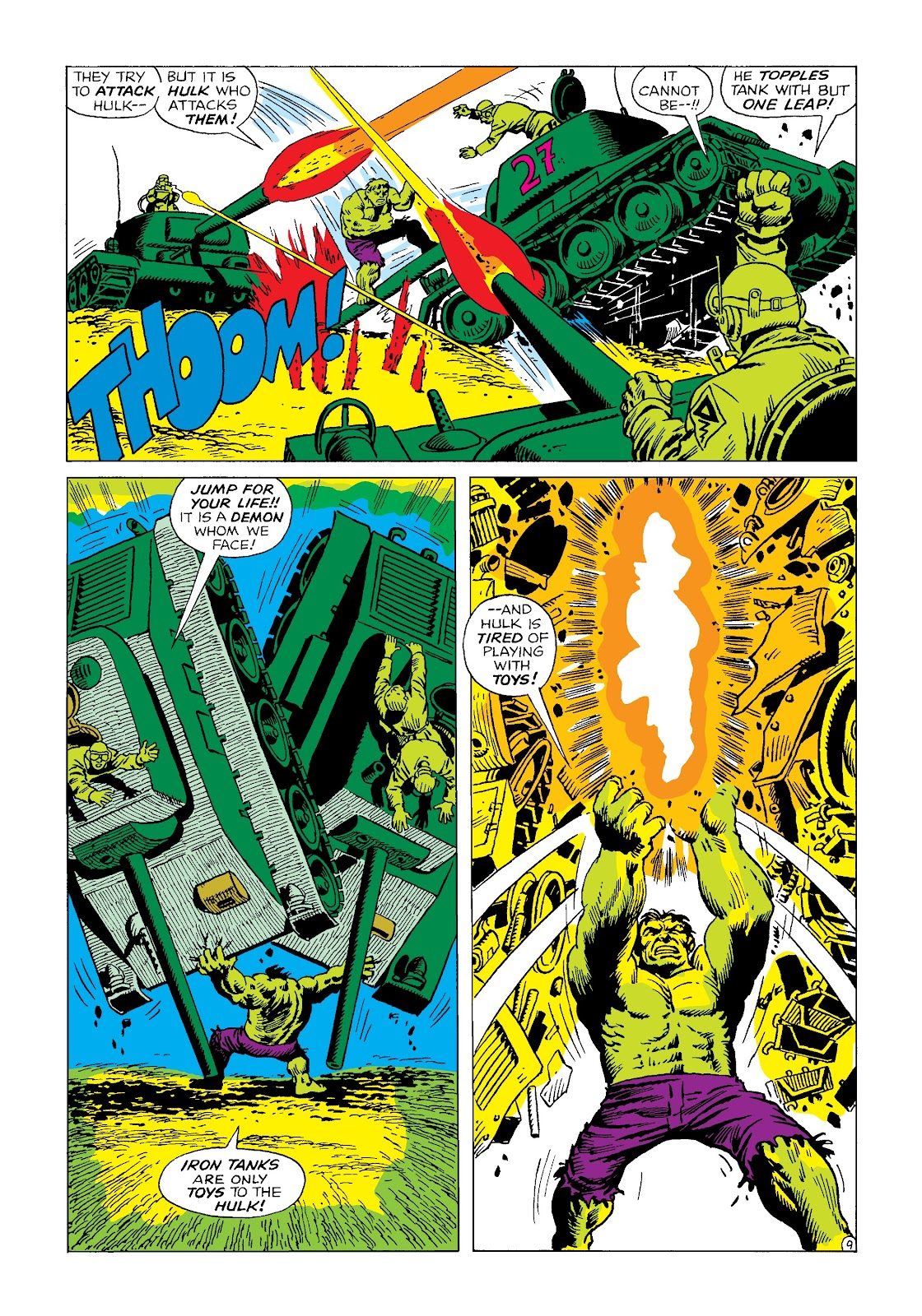 Read online Marvel Masterworks: The Incredible Hulk comic -  Issue # TPB 4 (Part 2) - 21