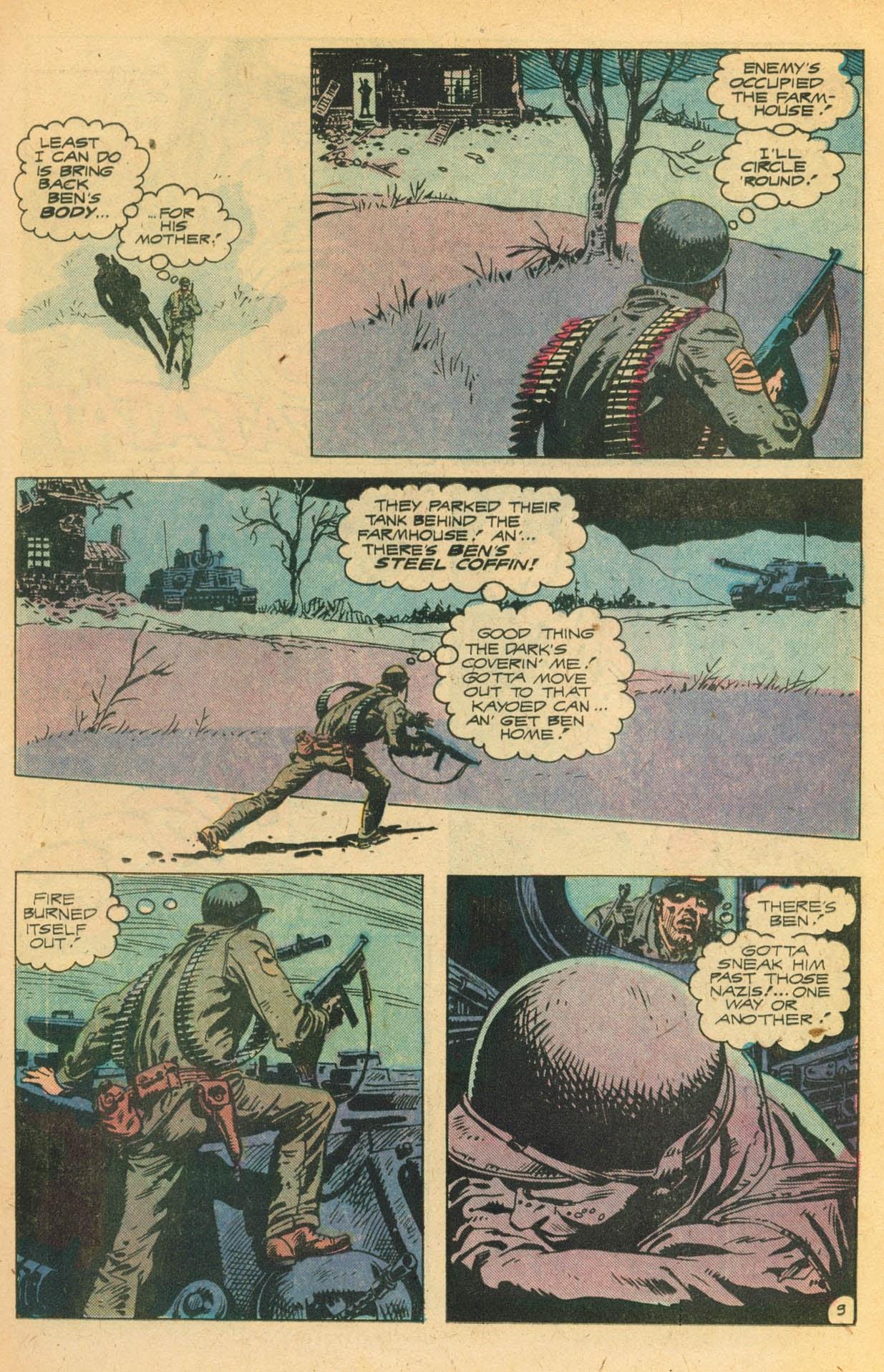 Read online Sgt. Rock comic -  Issue #329 - 15