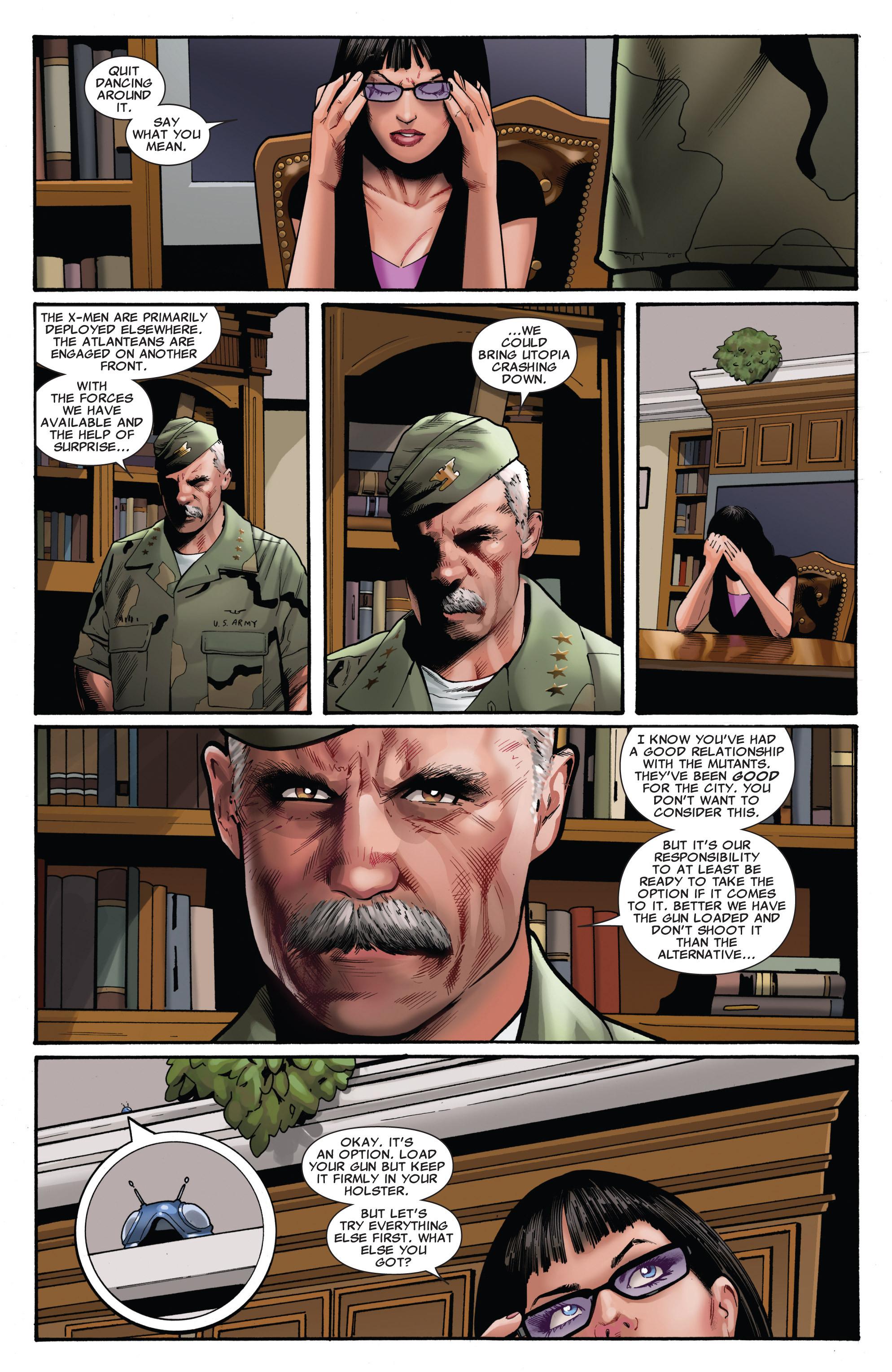 Read online Uncanny X-Men (1963) comic -  Issue #542 - 18