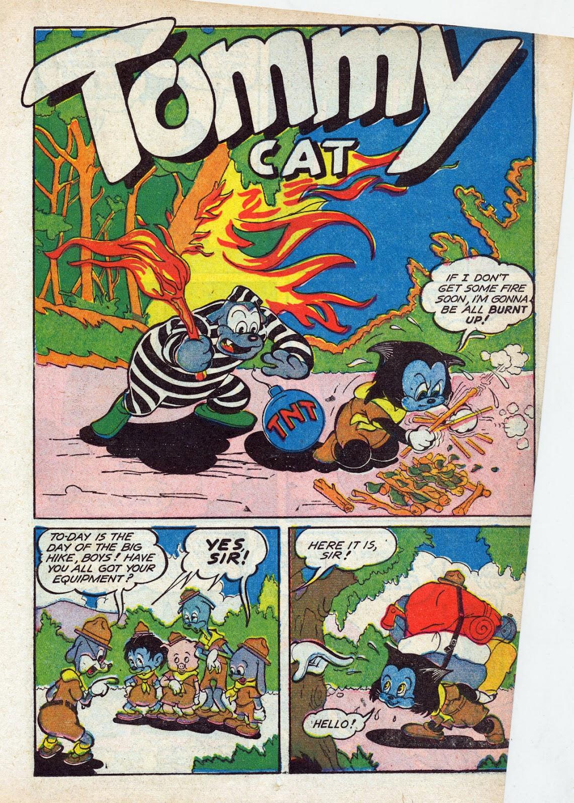 Read online Comedy Comics (1942) comic -  Issue #13 - 28