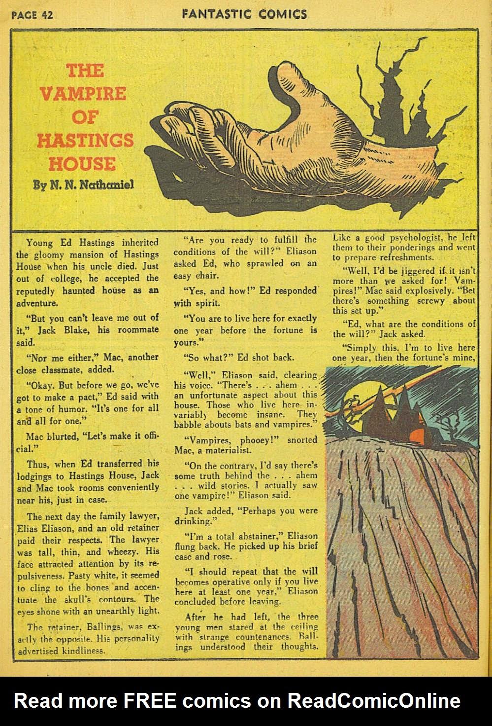 Read online Fantastic Comics comic -  Issue #15 - 36