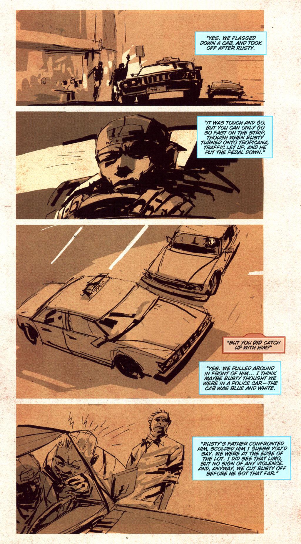 Read online CSI: Crime Scene Investigation: Bad Rap comic -  Issue #5 - 13
