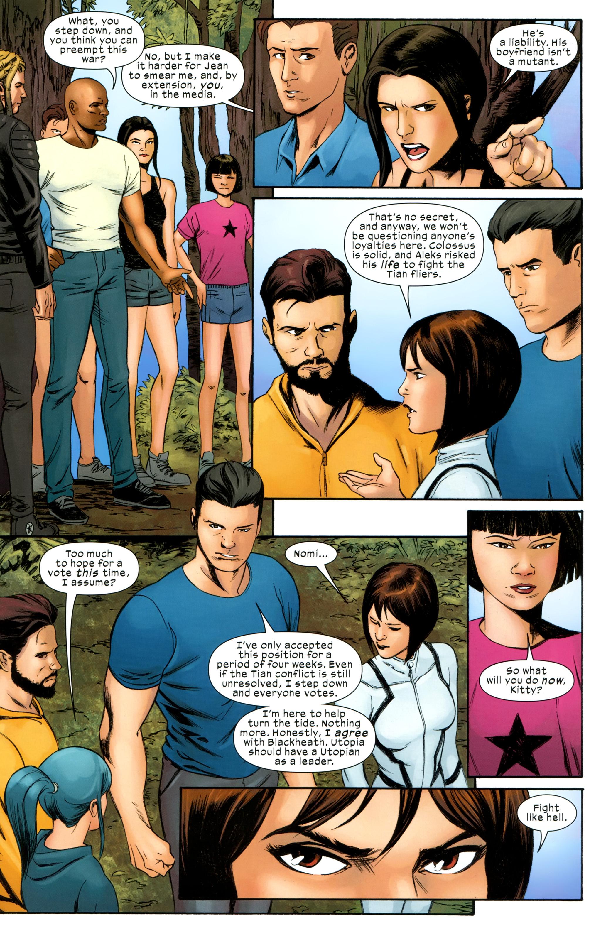 Read online Ultimate Comics X-Men comic -  Issue #31 - 16