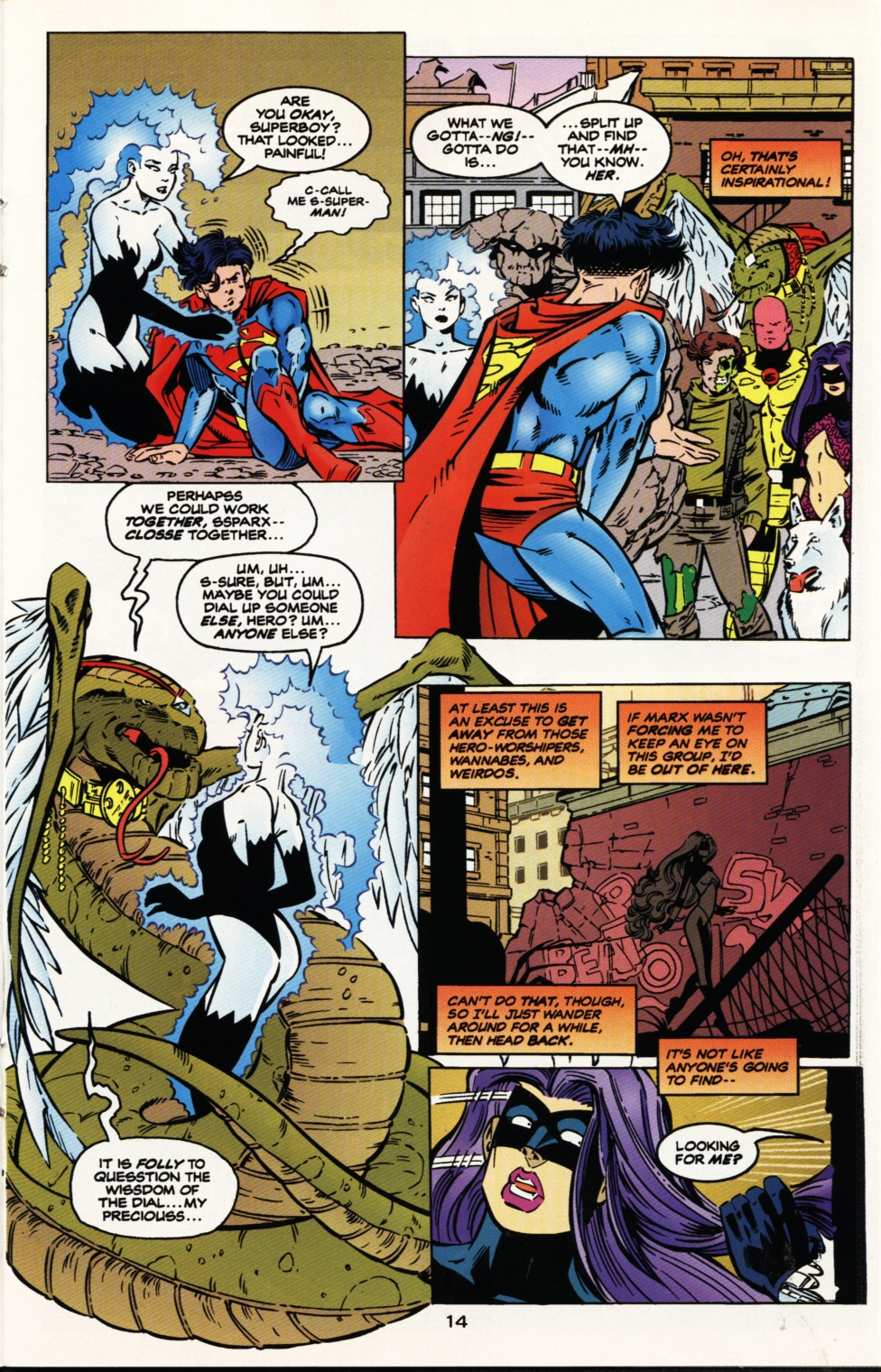 Read online Superboy & The Ravers comic -  Issue #9 - 15