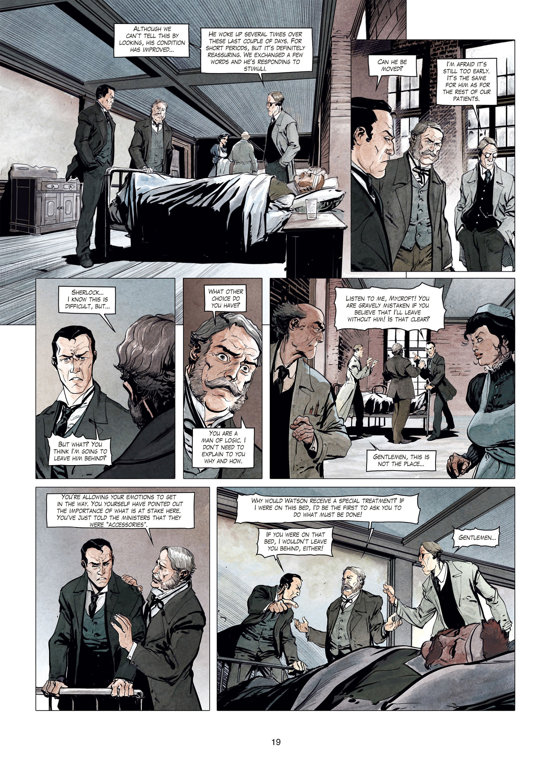 Read online Sherlock Holmes Society Tome 4 : Contamination comic -  Issue # Full - 19