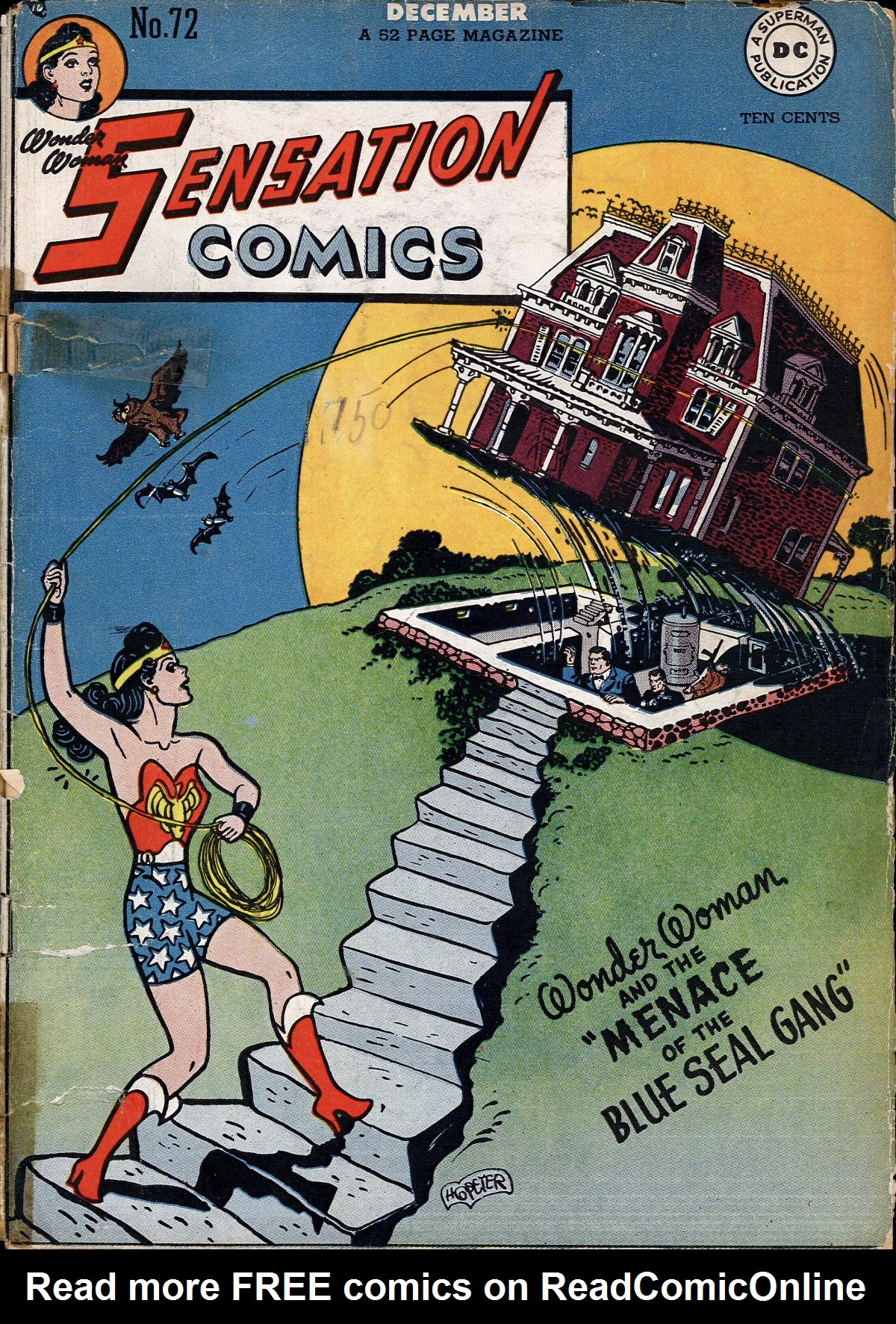 Read online Sensation (Mystery) Comics comic -  Issue #72 - 1