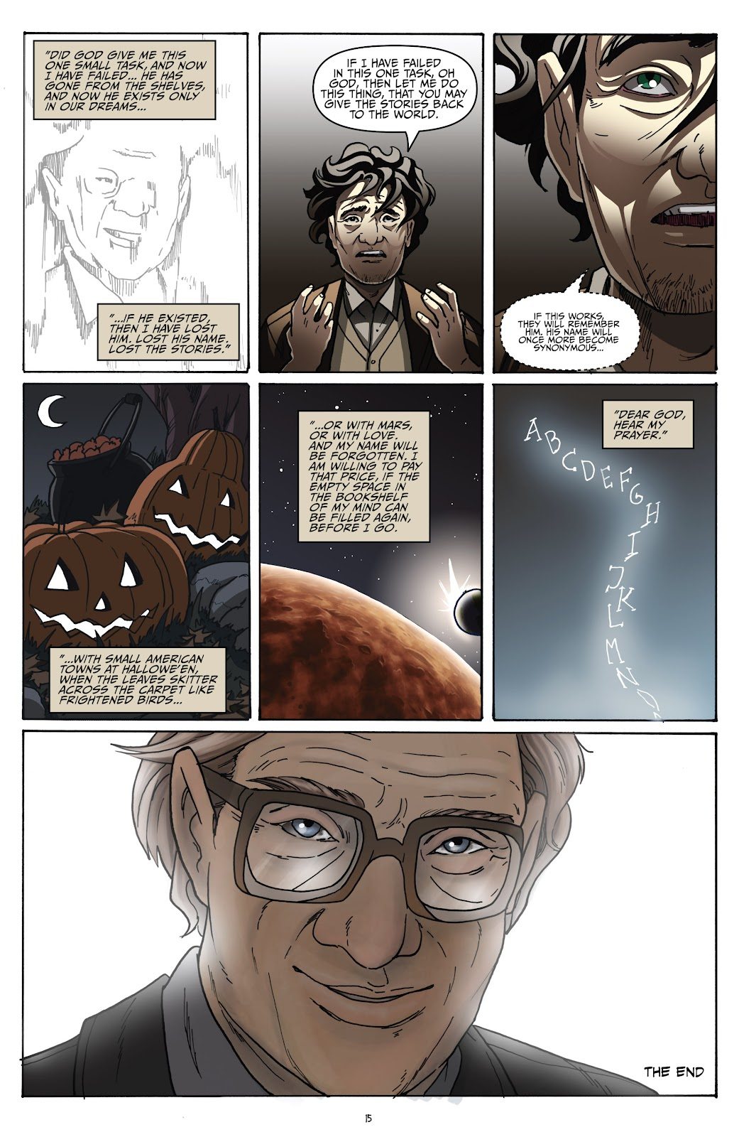 Read online Shadow Show: Stories in Celebration of Ray Bradbury comic -  Issue #2 - 17