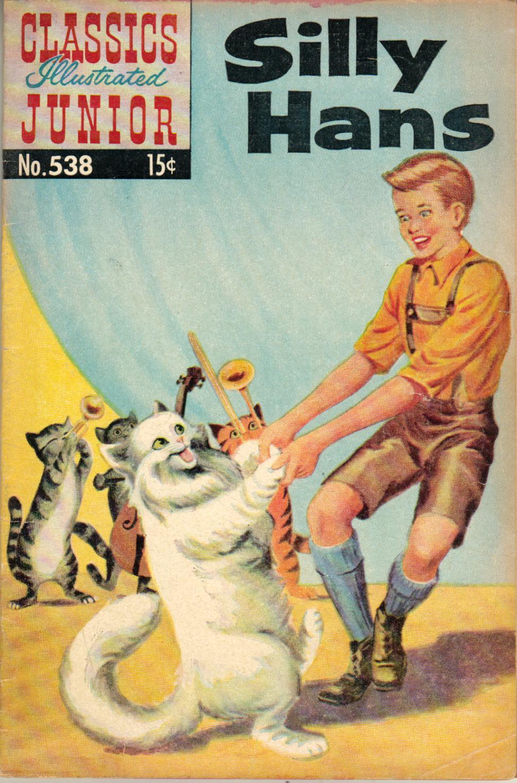 Classics Illustrated Junior 538 Page 1