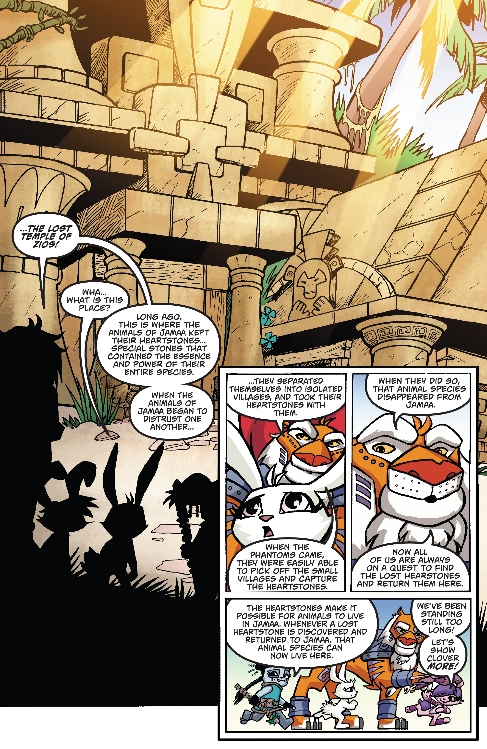 Read online Free Comic Book Day 2017 comic -  Issue # Animal Jam - 11