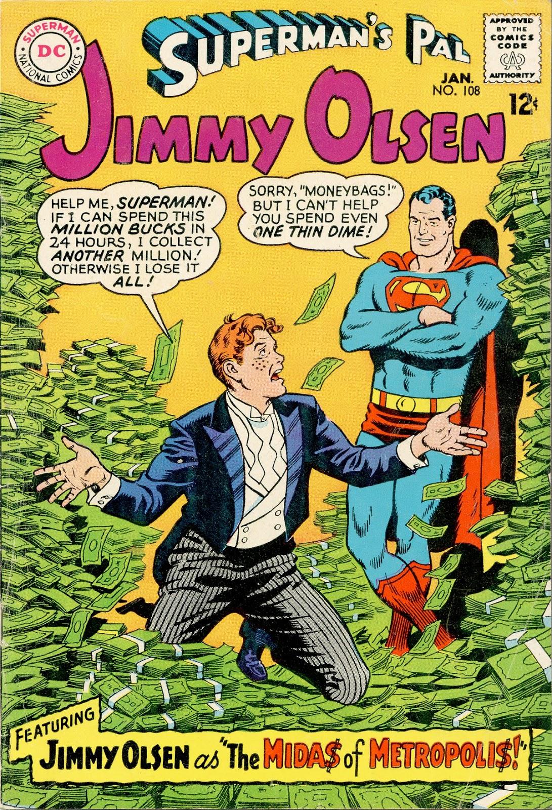 Supermans Pal Jimmy Olsen (1954) 108 Page 1