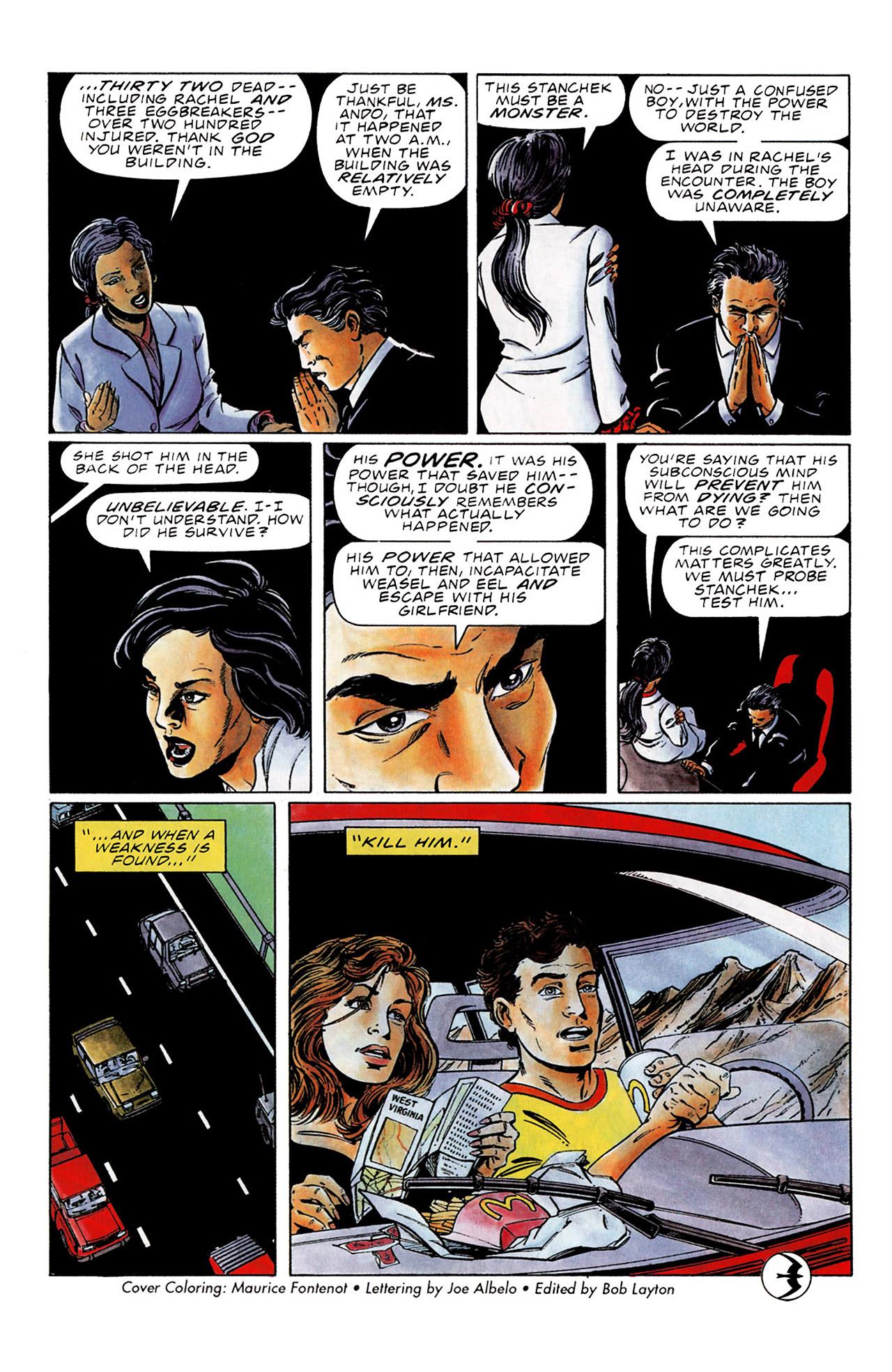 Read online Harbinger (1992) comic -  Issue #0 - 16
