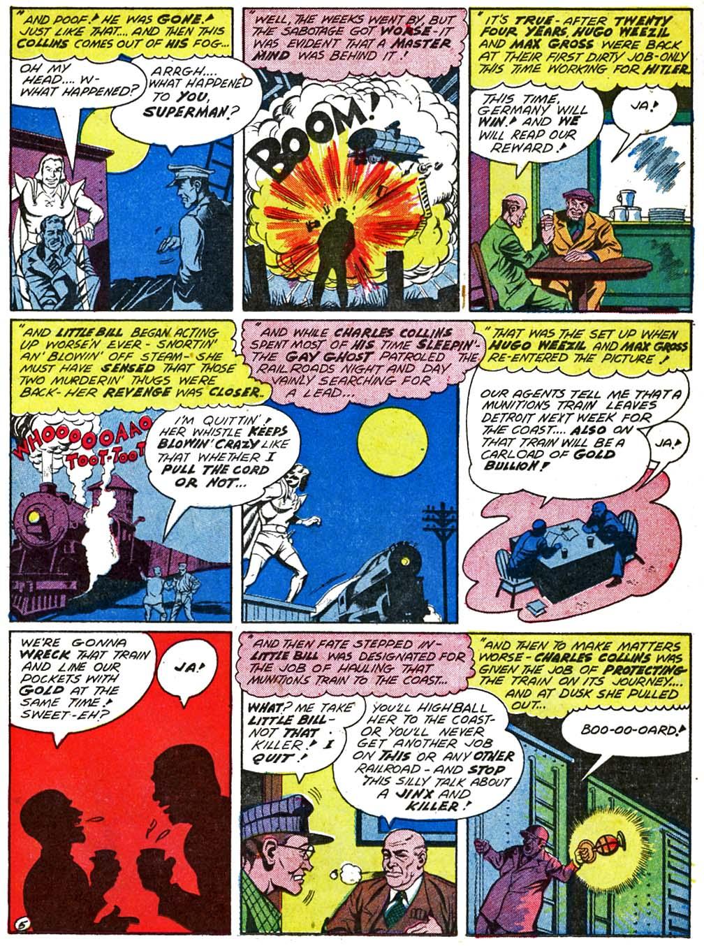 Read online Sensation (Mystery) Comics comic -  Issue #29 - 35