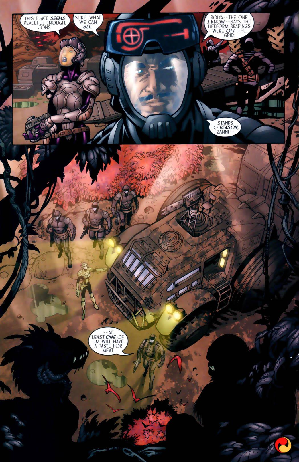 Read online Sigil (2000) comic -  Issue #30 - 25