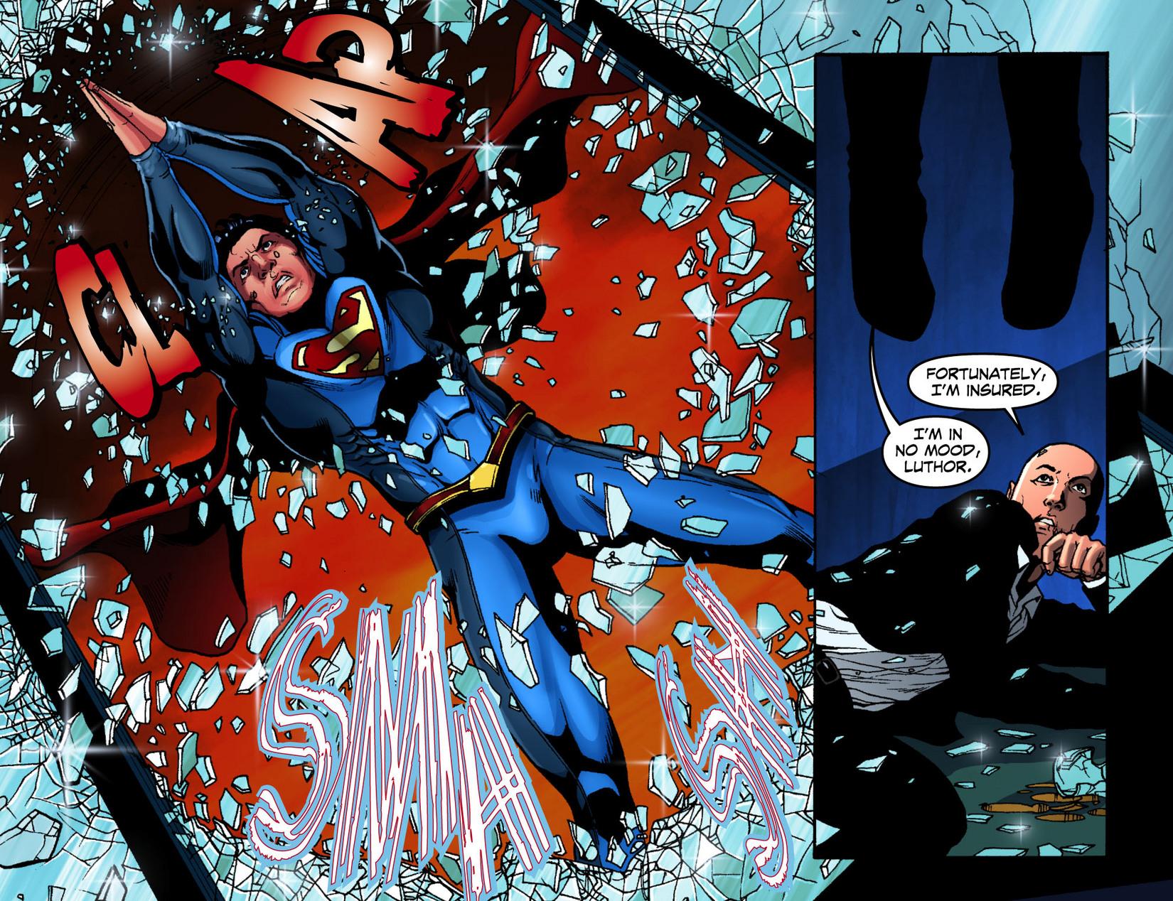 Read online Smallville: Season 11 comic -  Issue #7 - 16
