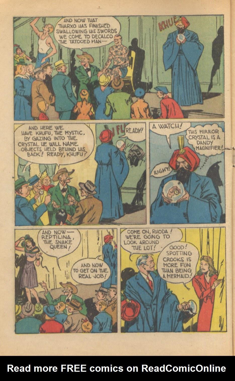 Read online Super-Magician Comics comic -  Issue #37 - 7