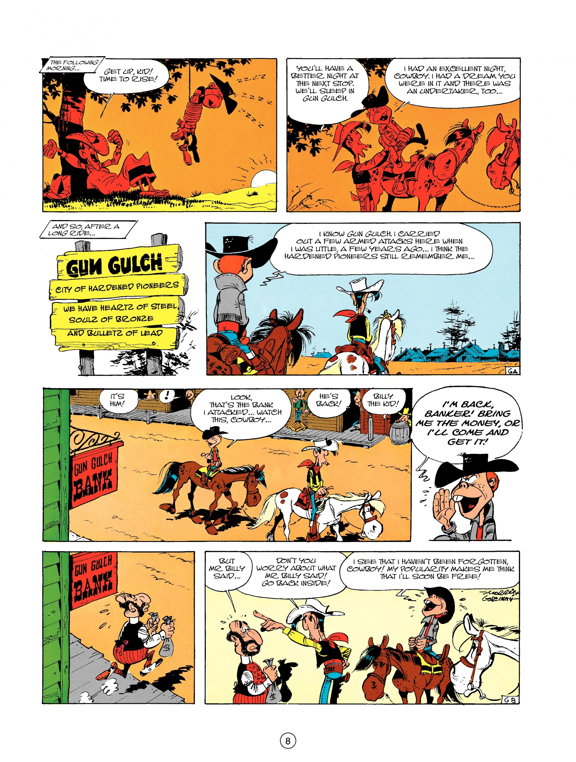 Read online A Lucky Luke Adventure comic -  Issue #18 - 8