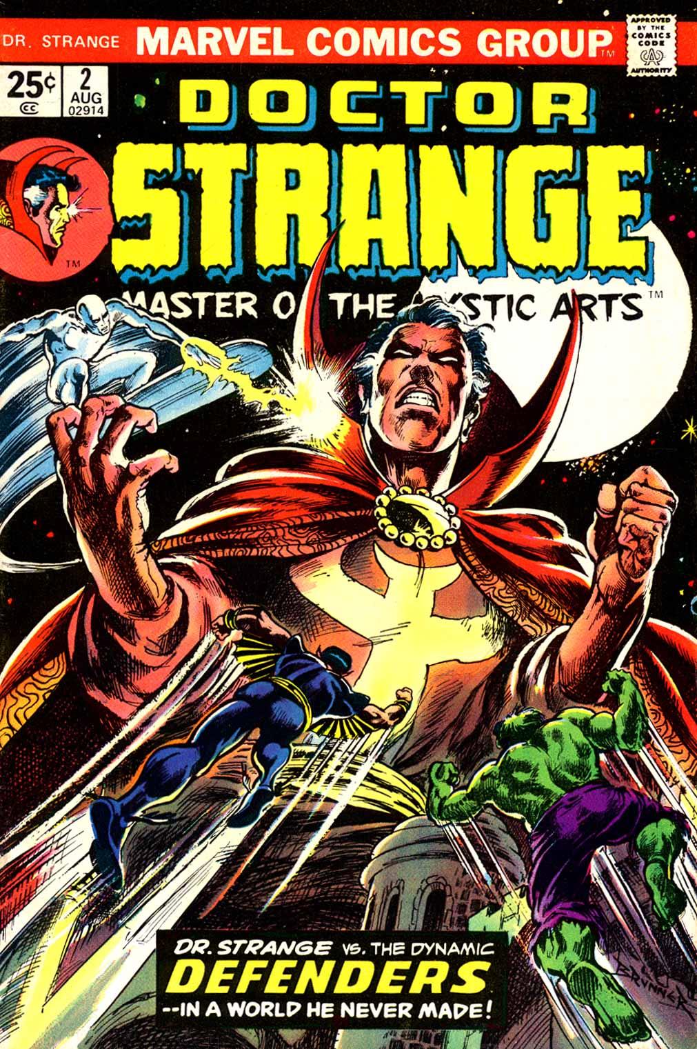 Doctor Strange (1974) 2 Page 1