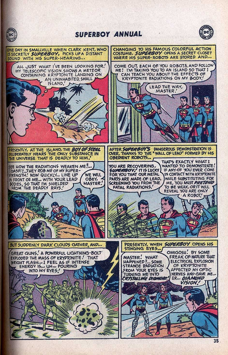 Superboy (1949) issue Annual 1 - Page 37
