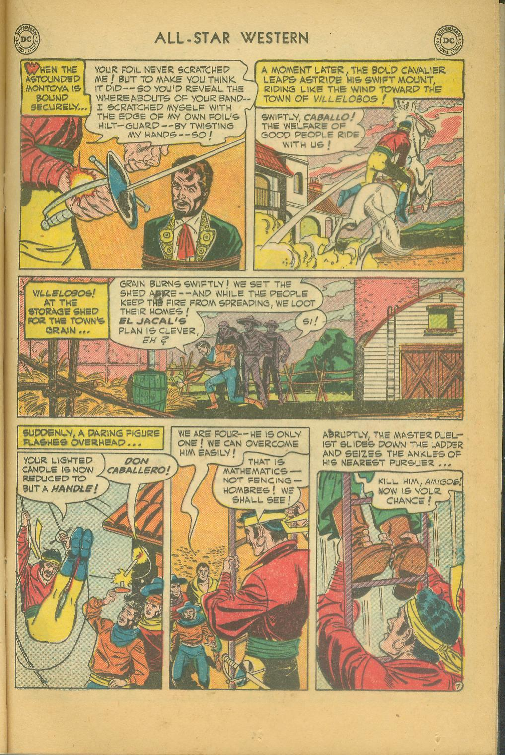 Read online All-Star Western (1951) comic -  Issue #61 - 21