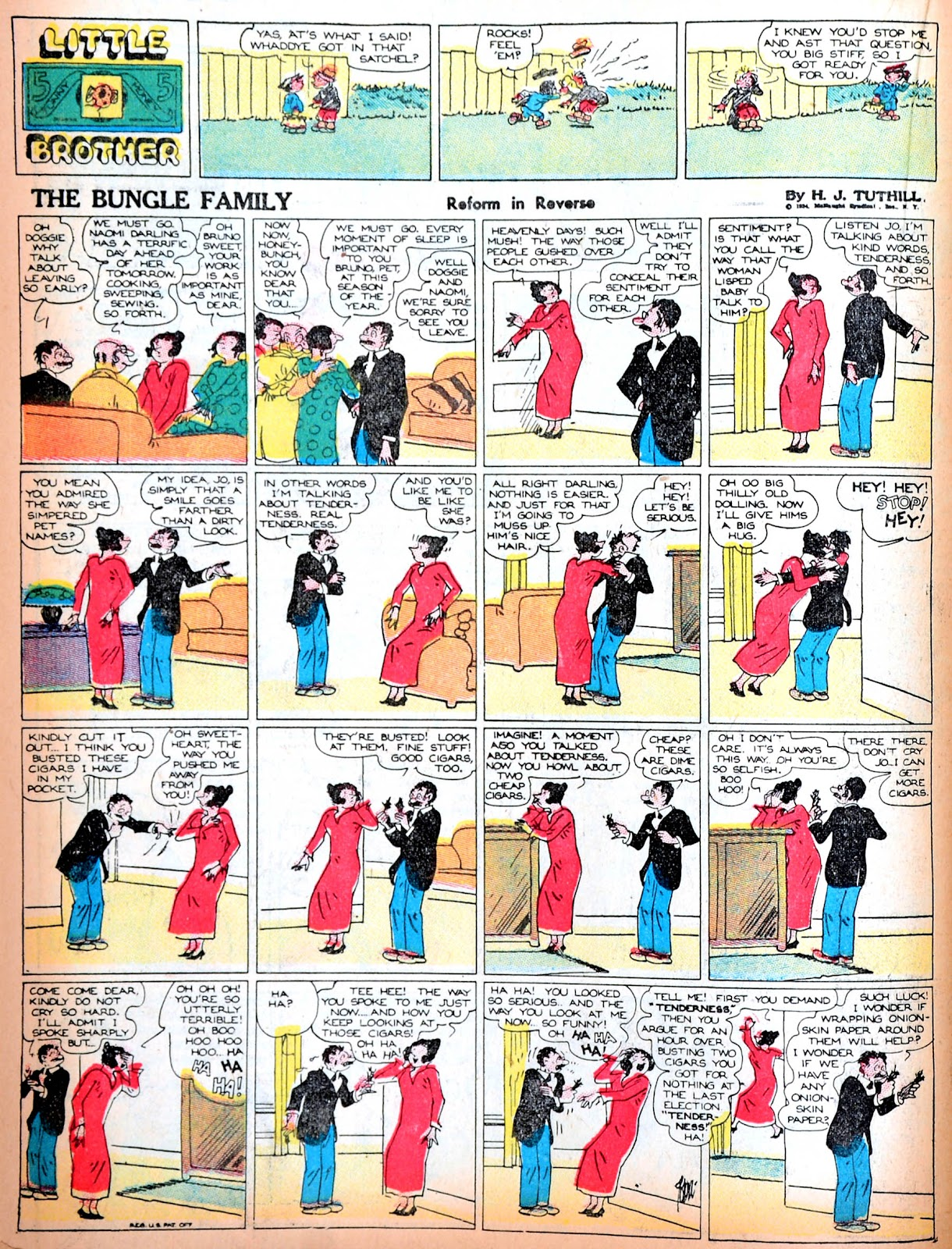 Read online Famous Funnies comic -  Issue #11 - 42