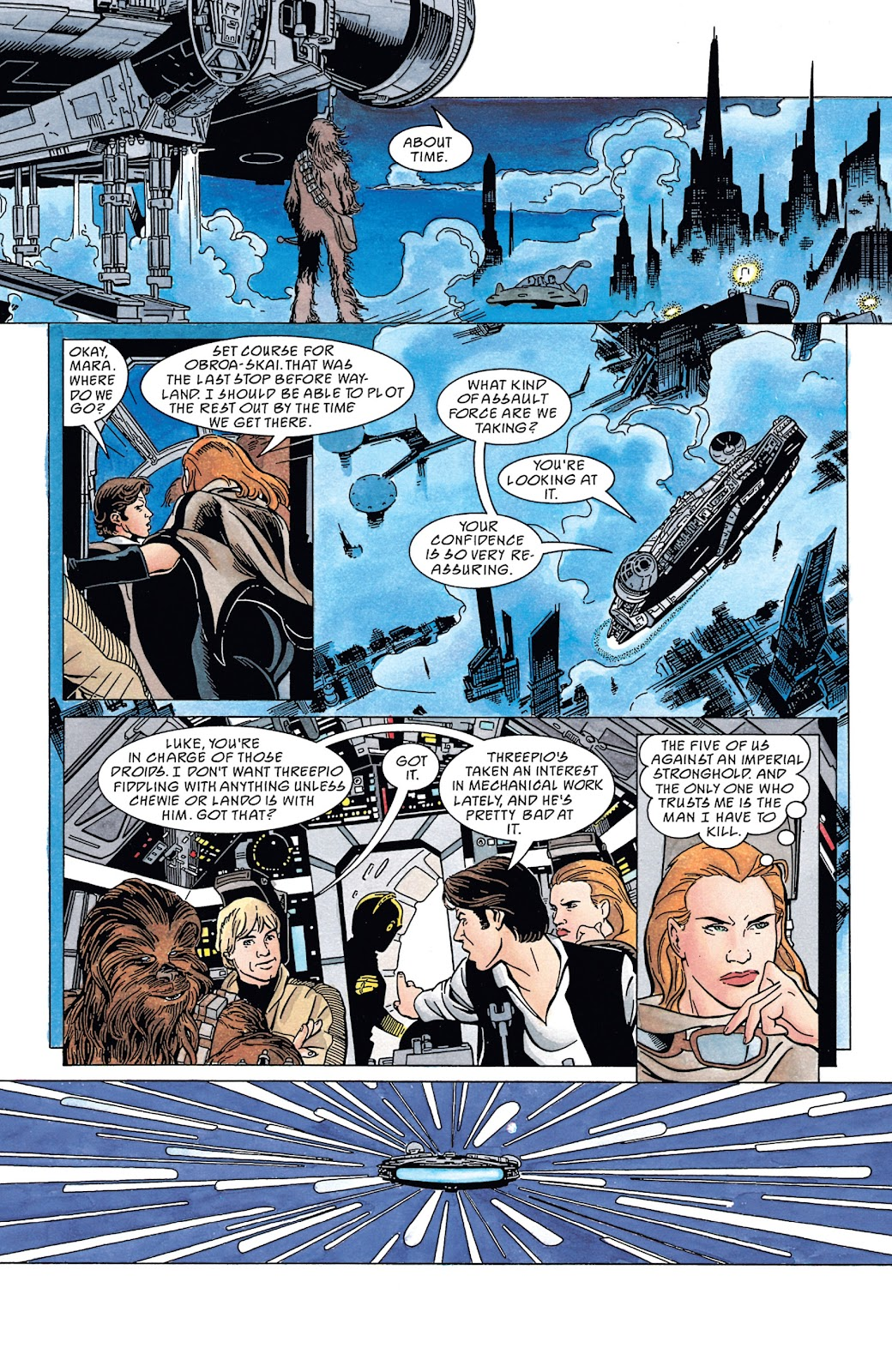 Read online Star Wars Legends: The New Republic - Epic Collection comic -  Issue # TPB 4 (Part 4) - 56
