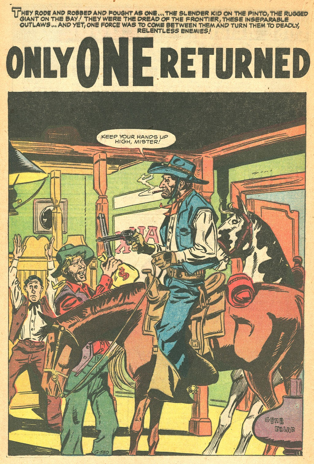 Kid Colt Outlaw issue 53 - Page 20