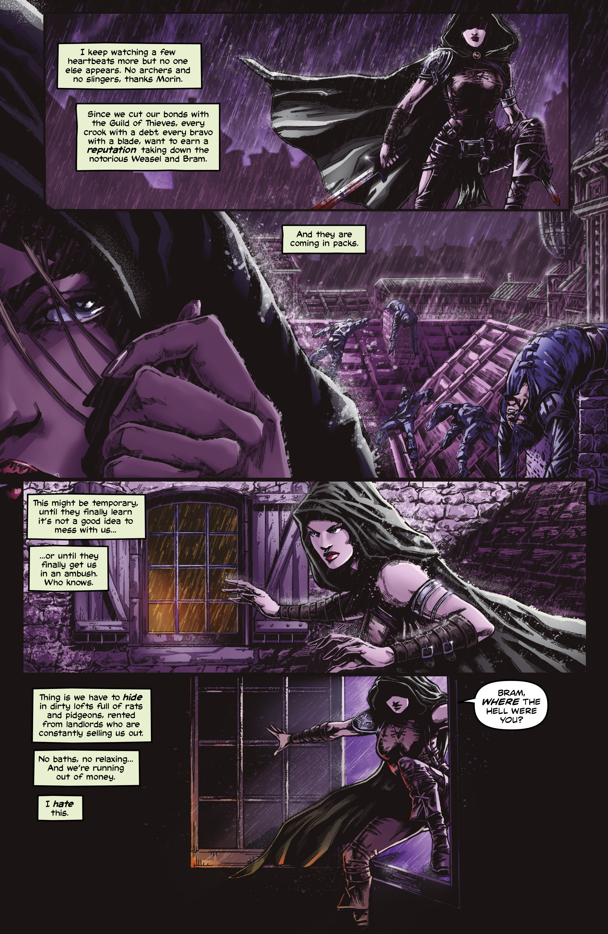 Read online Rogues!: The Burning Heart comic -  Issue #4 - 4