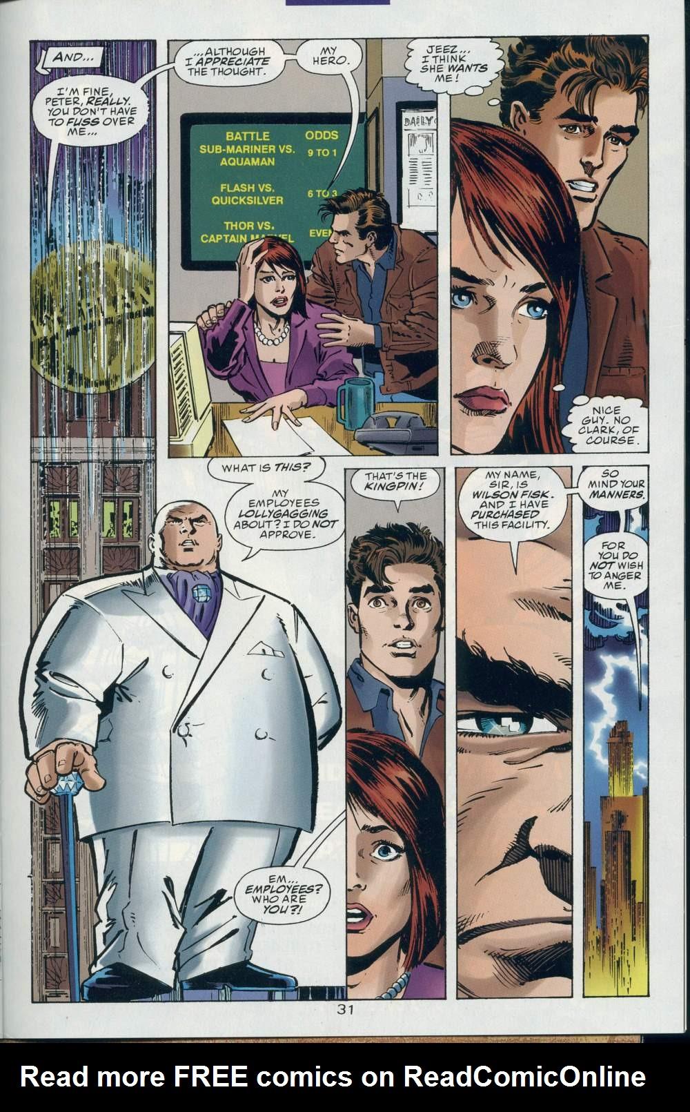 Read online DC Versus Marvel Comics comic -  Issue #2 - 32