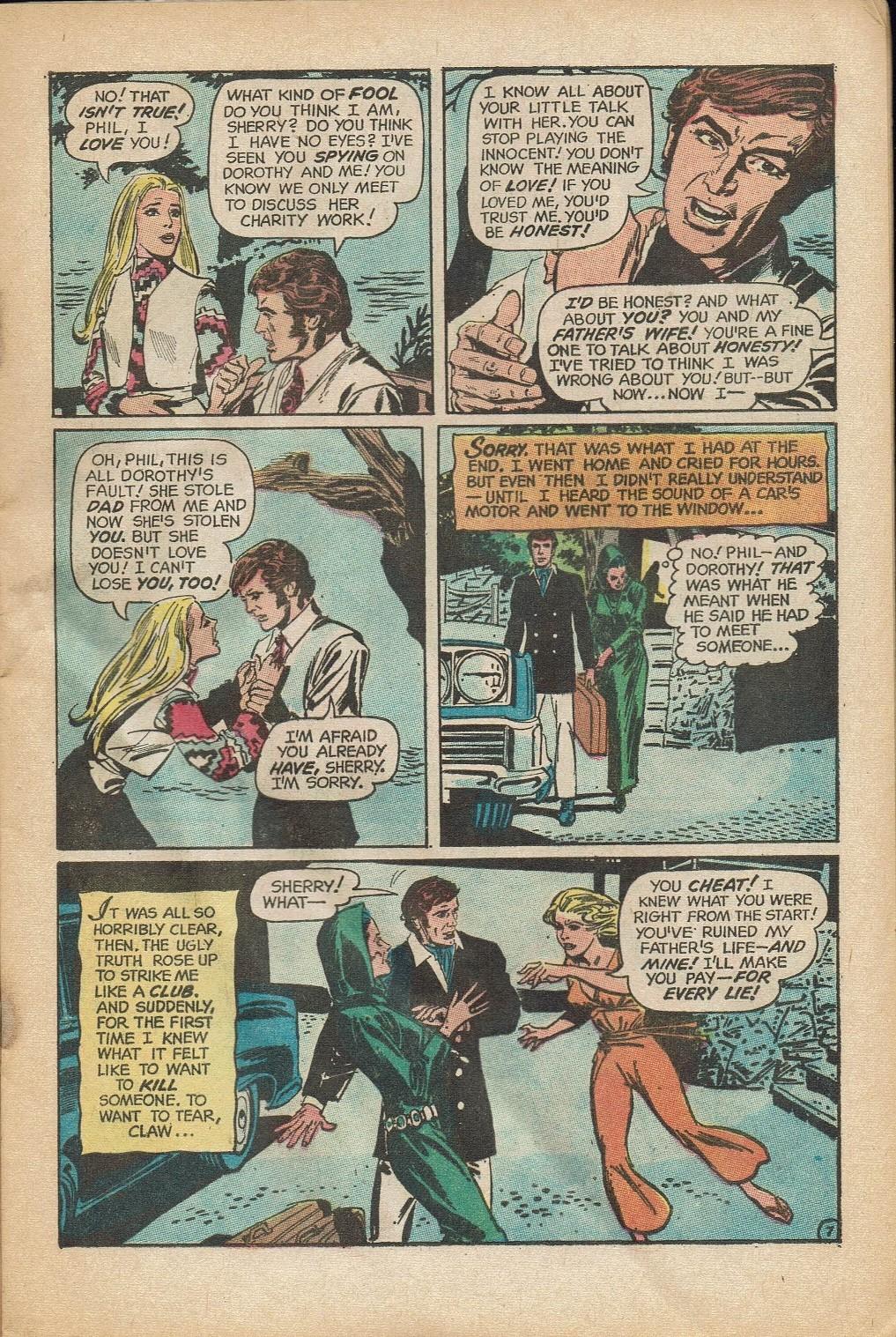 Read online Secret Hearts comic -  Issue #152 - 9