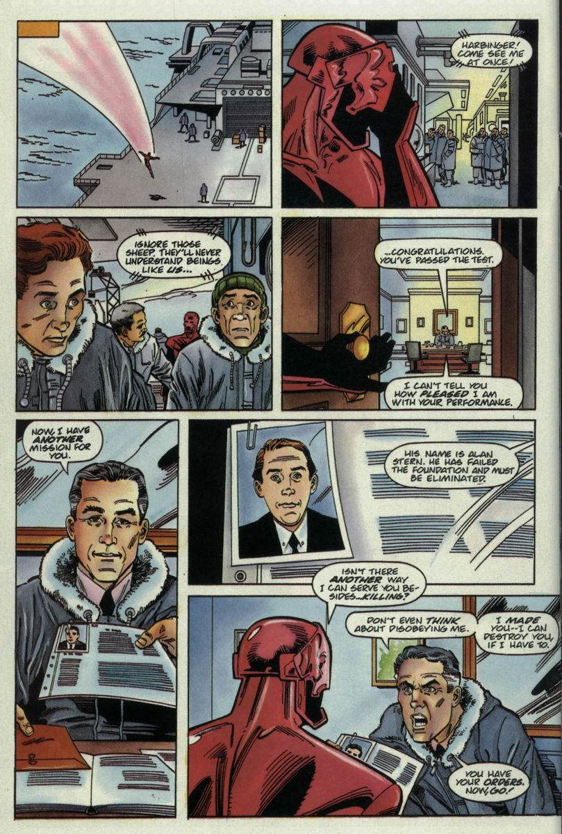 Read online Harbinger Files comic -  Issue #2 - 16