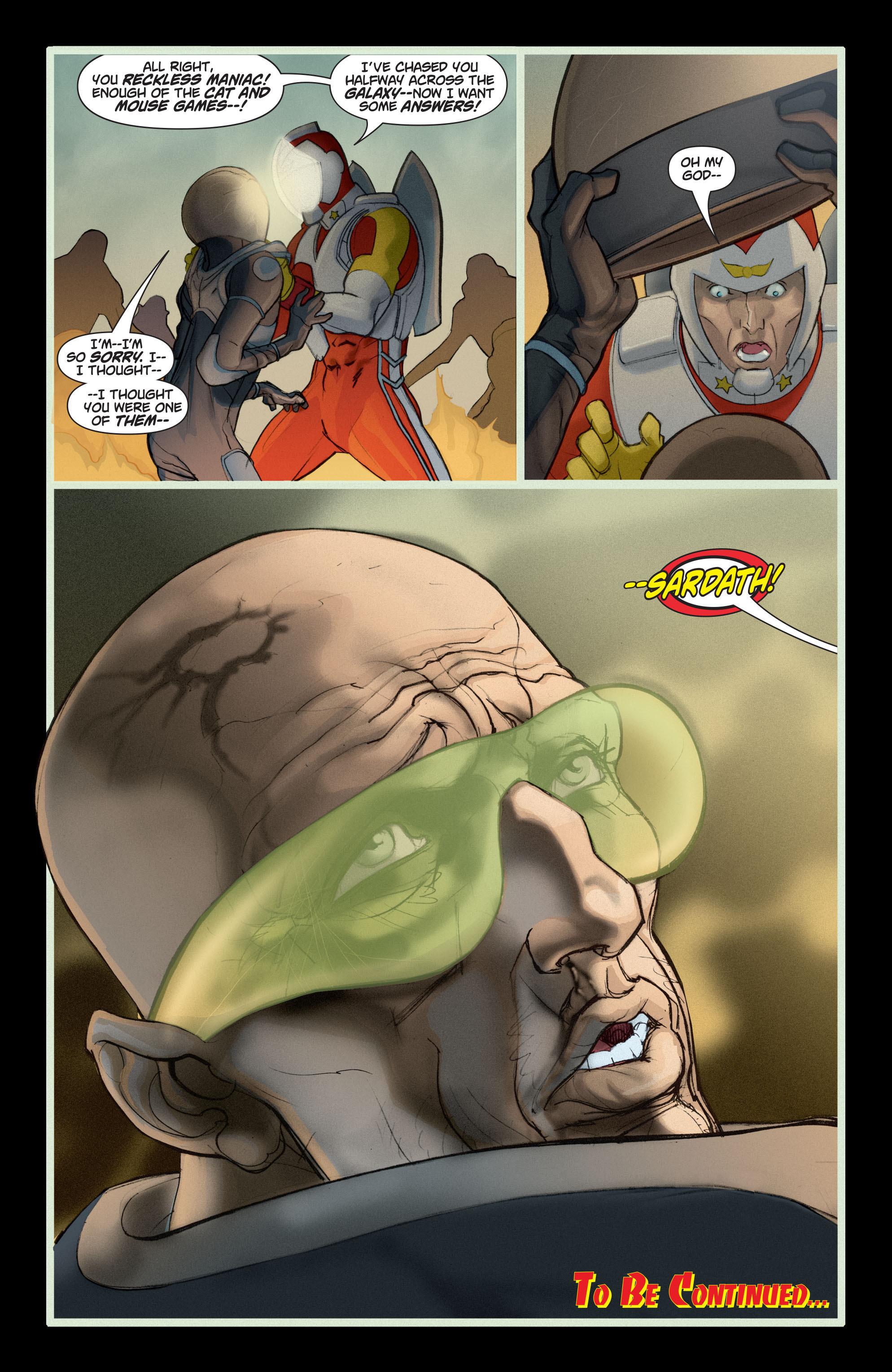 Read online Adam Strange (2004) comic -  Issue #5 - 23