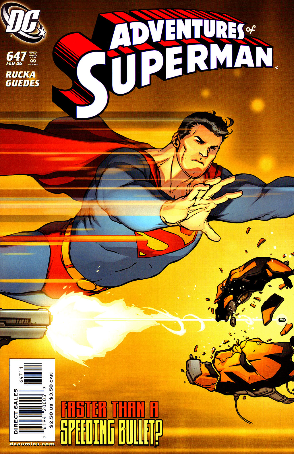Read online Adventures of Superman (1987) comic -  Issue #647 - 1