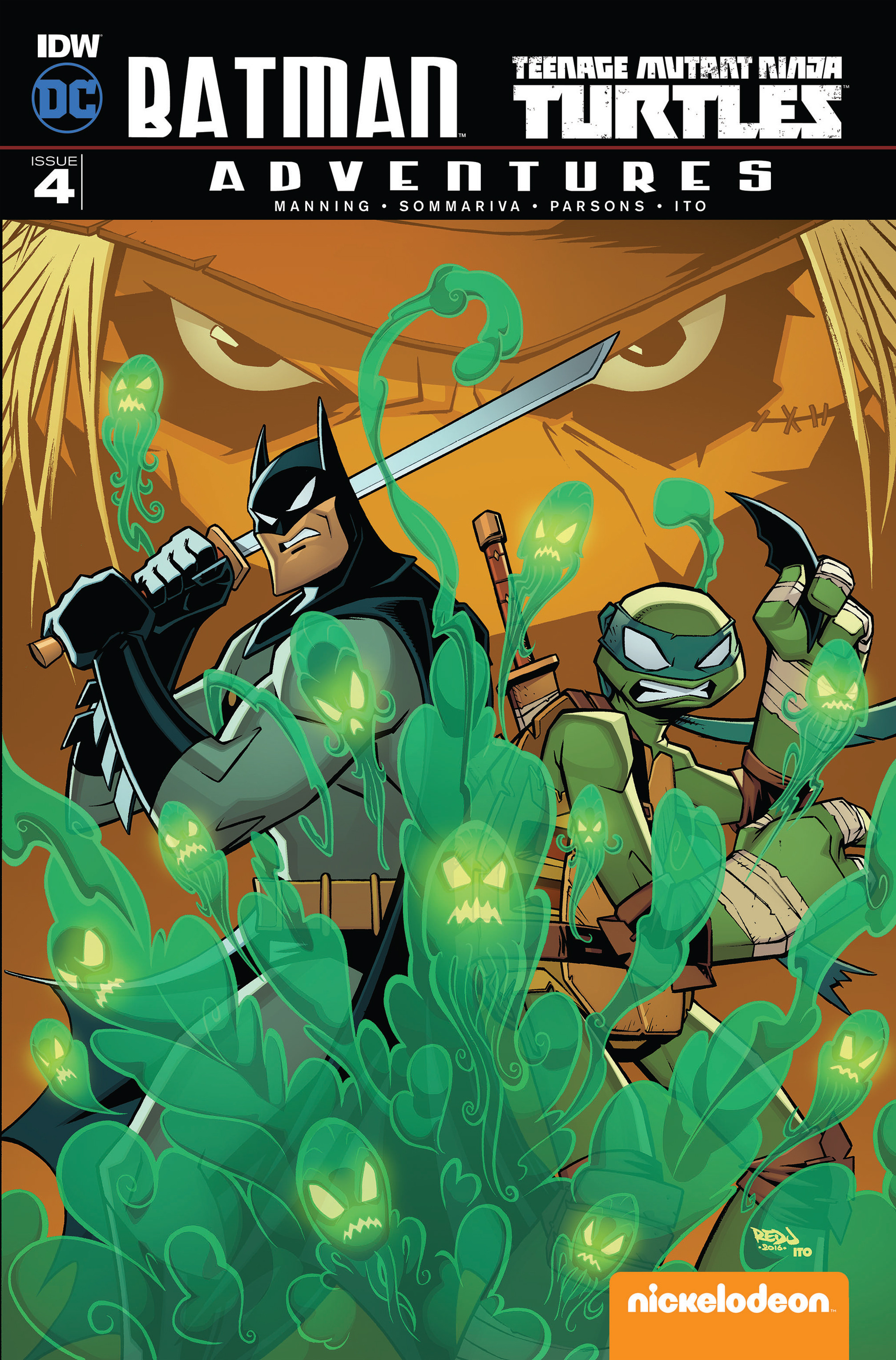 Read online Batman/Teenage Mutant Ninja Turtles Adventure comic -  Issue #4 - 1