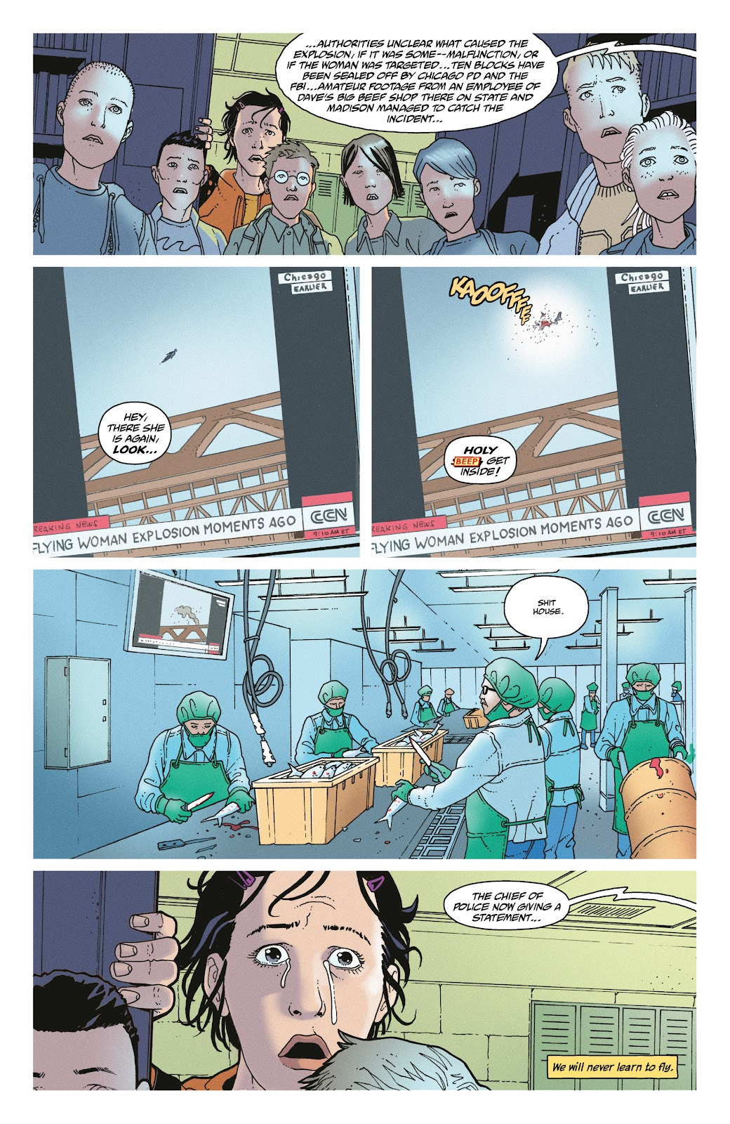 Read online She Could Fly comic -  Issue # _TPB - 30