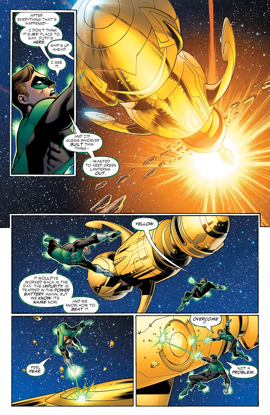 Read online Green Lantern by Geoff Johns comic -  Issue # TPB 1 (Part 4) - 10