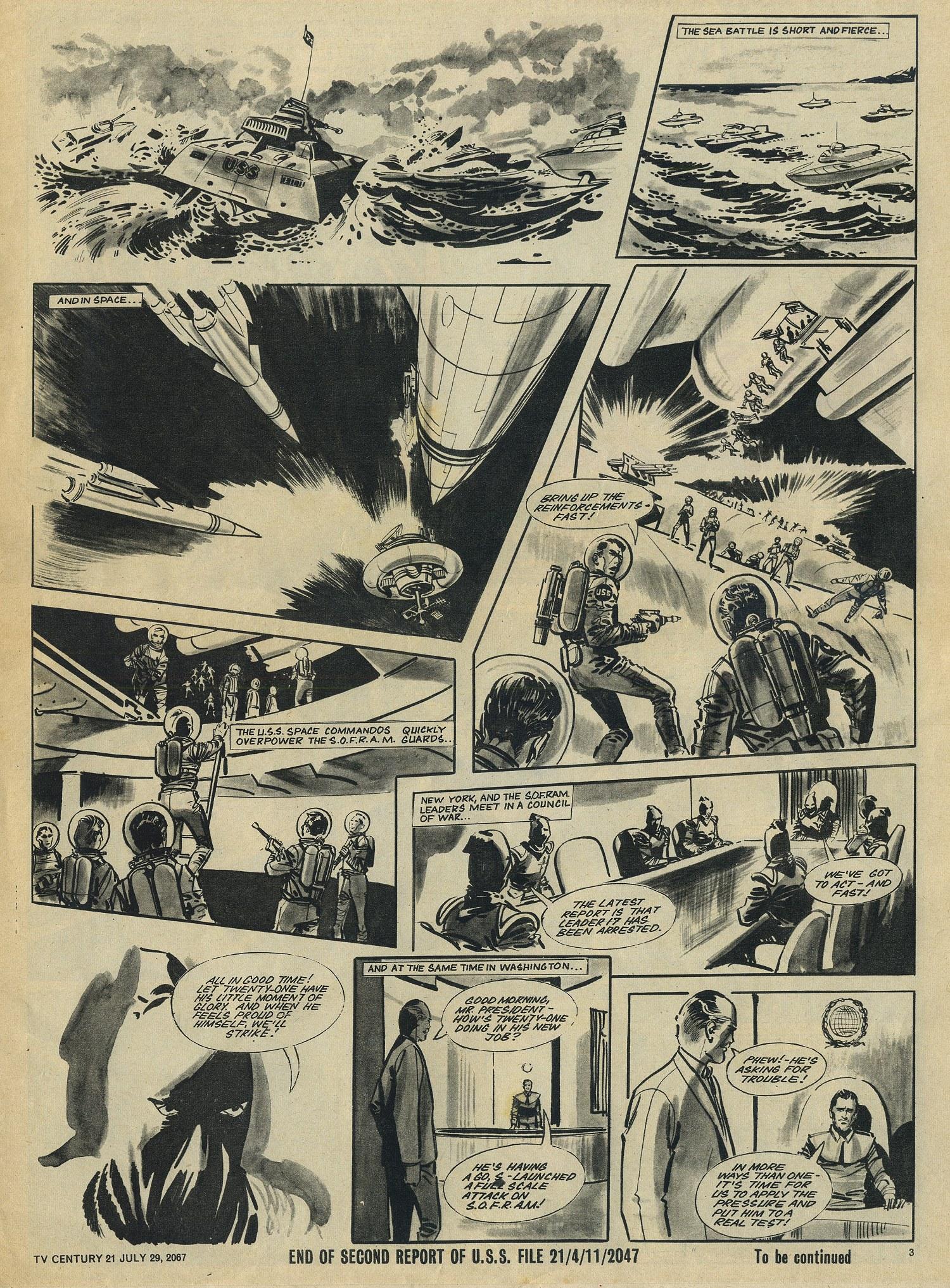 Read online TV Century 21 (TV 21) comic -  Issue #132 - 3