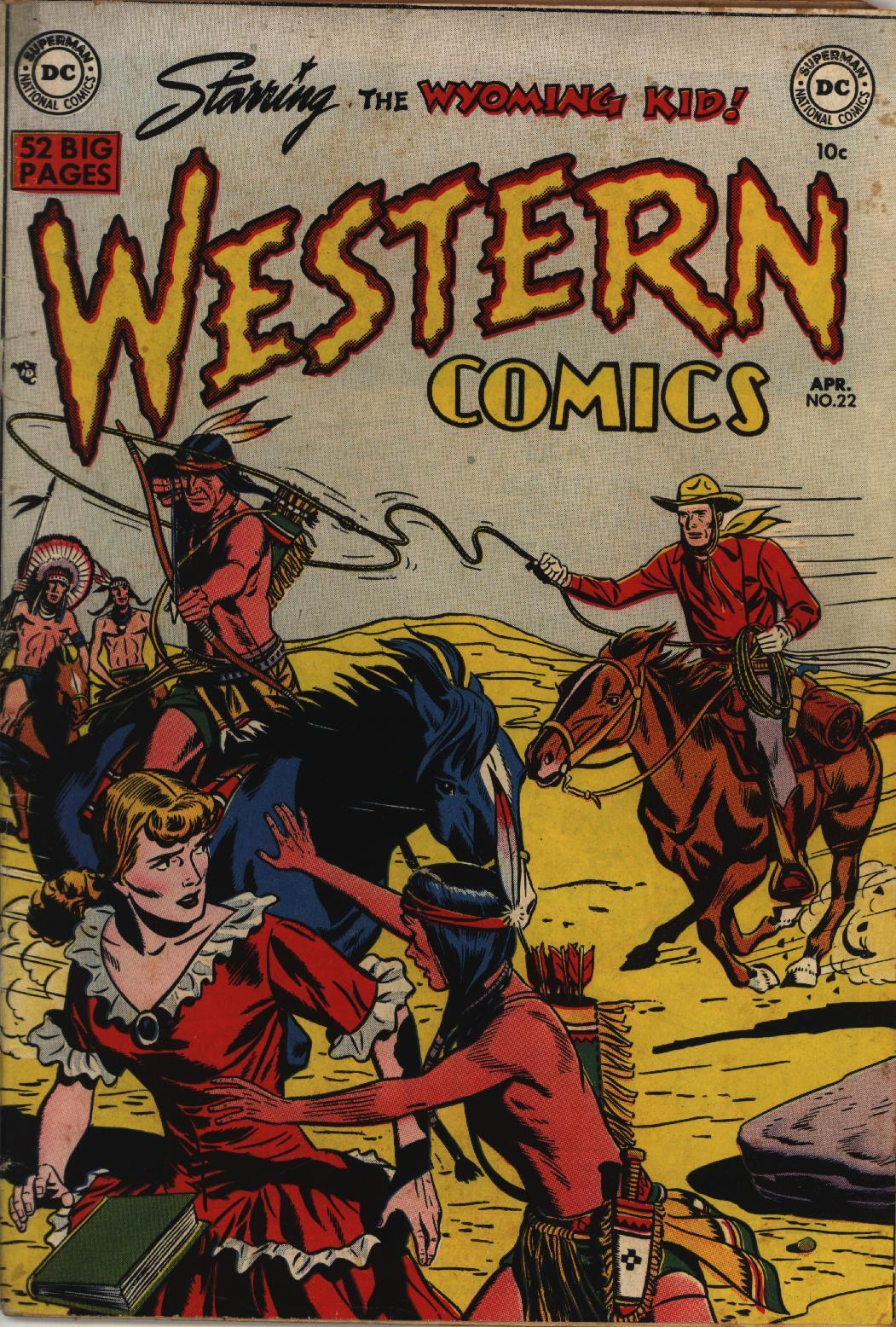 Western Comics 22 Page 1