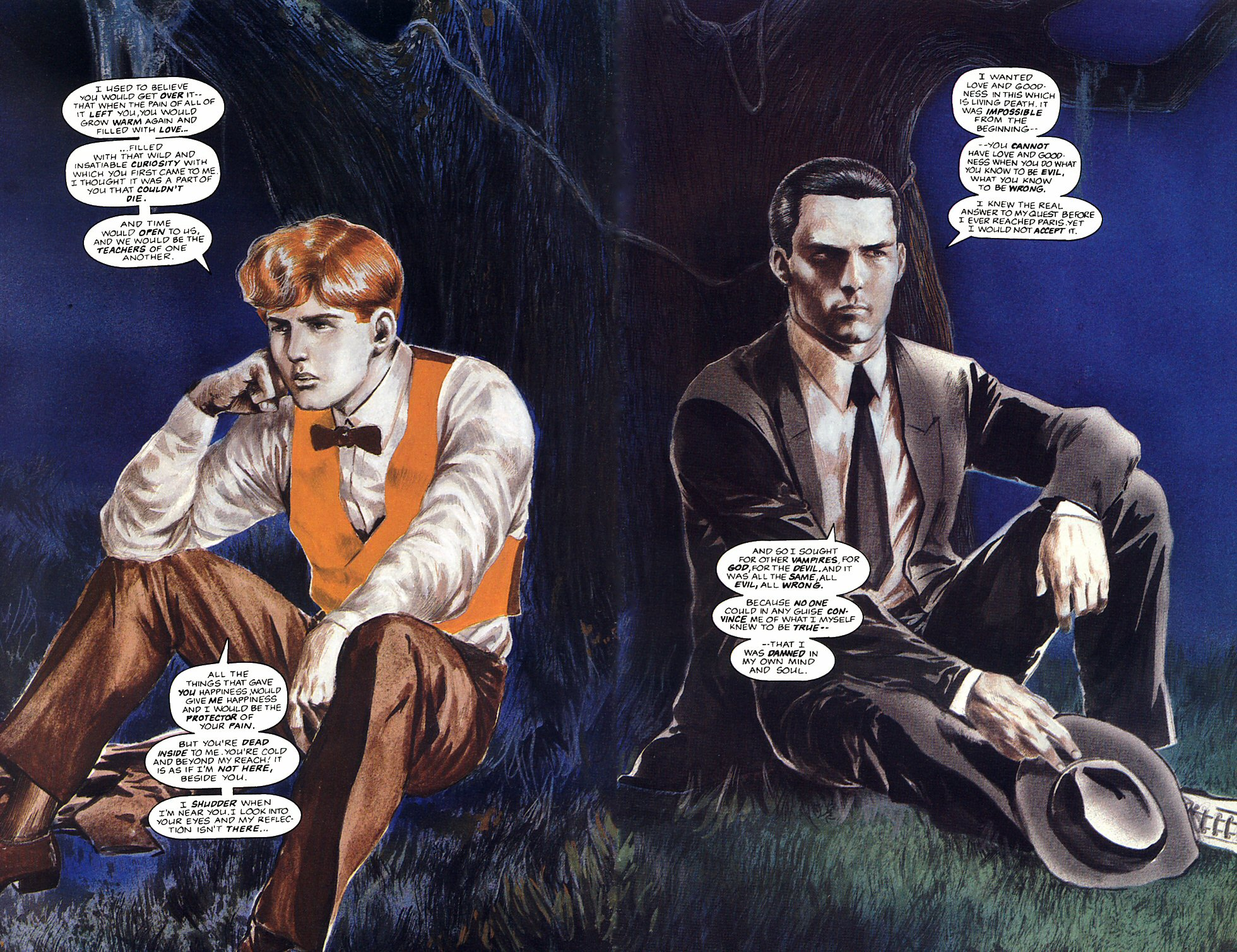 Read online Anne Rice's Interview with the Vampire comic -  Issue #12 - 23