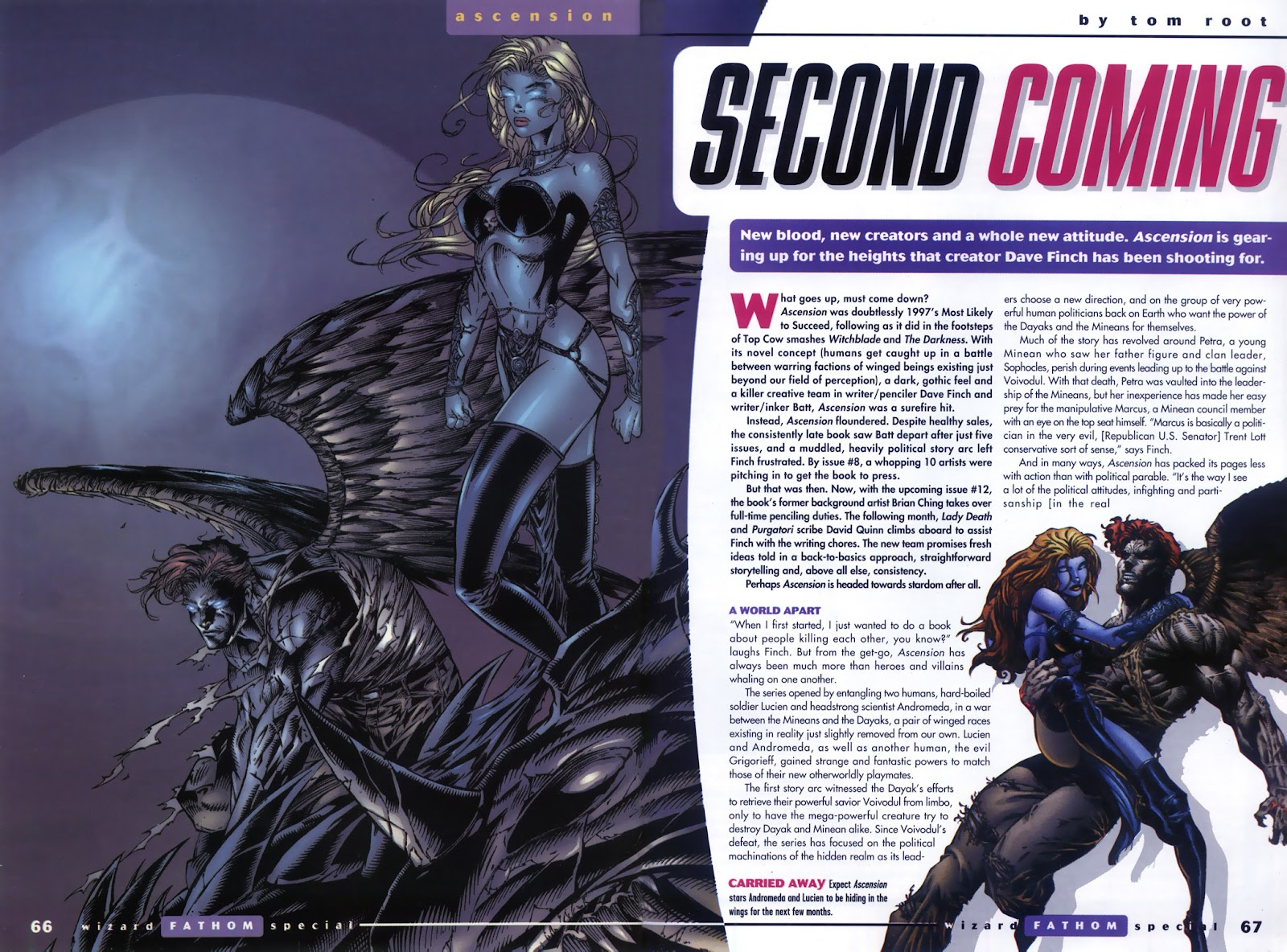 Read online Fathom Special comic -  Issue # Full - 48