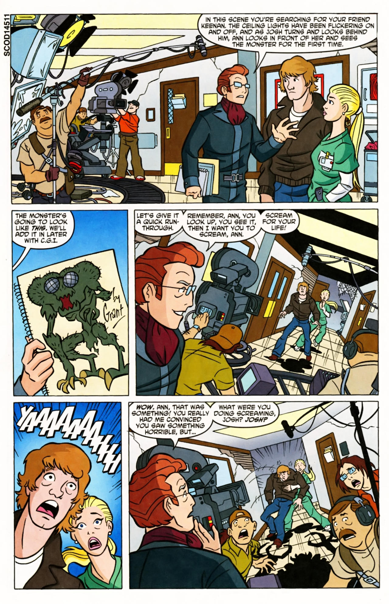 Read online Scooby-Doo (1997) comic -  Issue #145 - 2