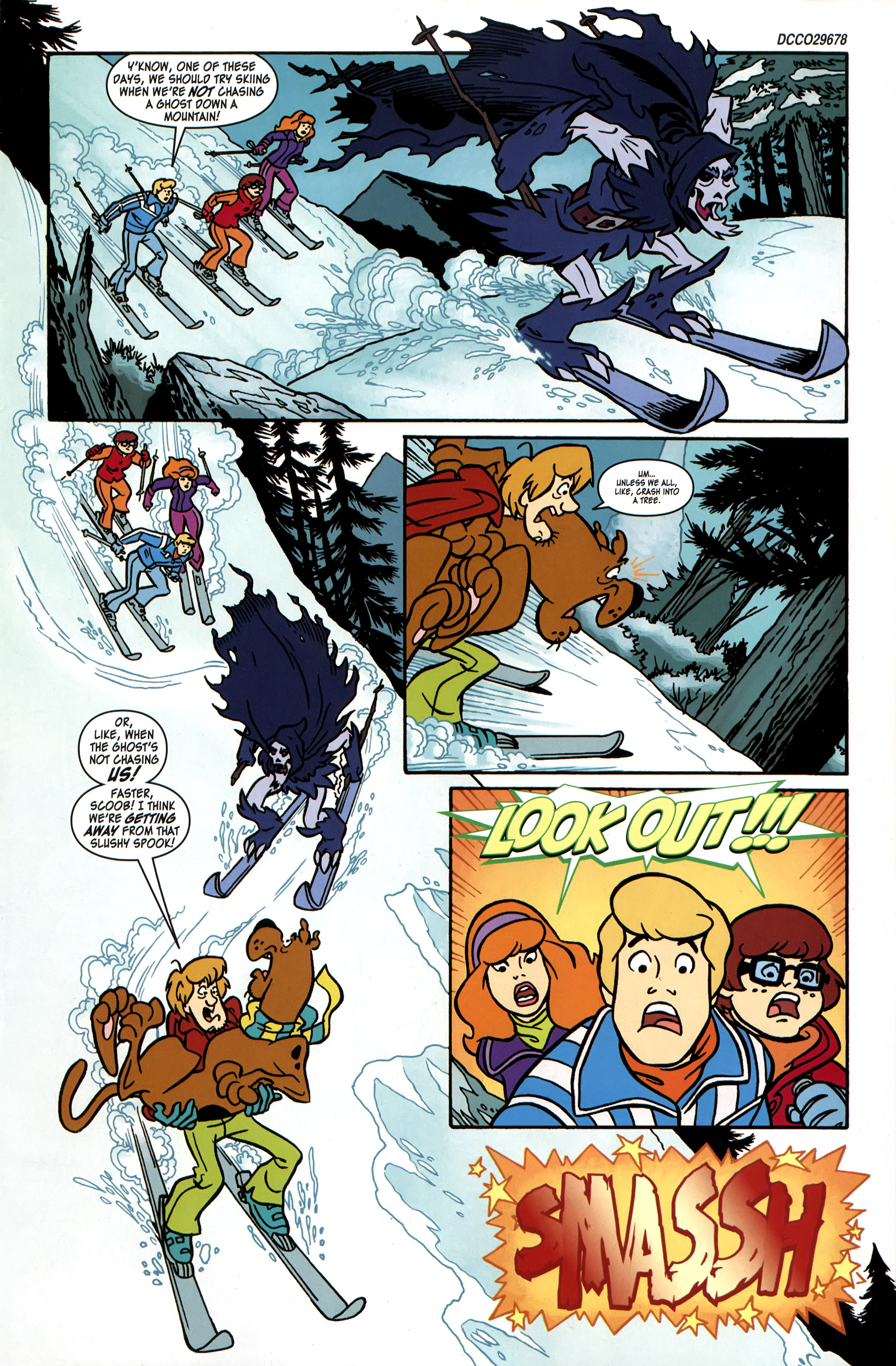 Read online Scooby-Doo: Where Are You? comic -  Issue #31 - 3