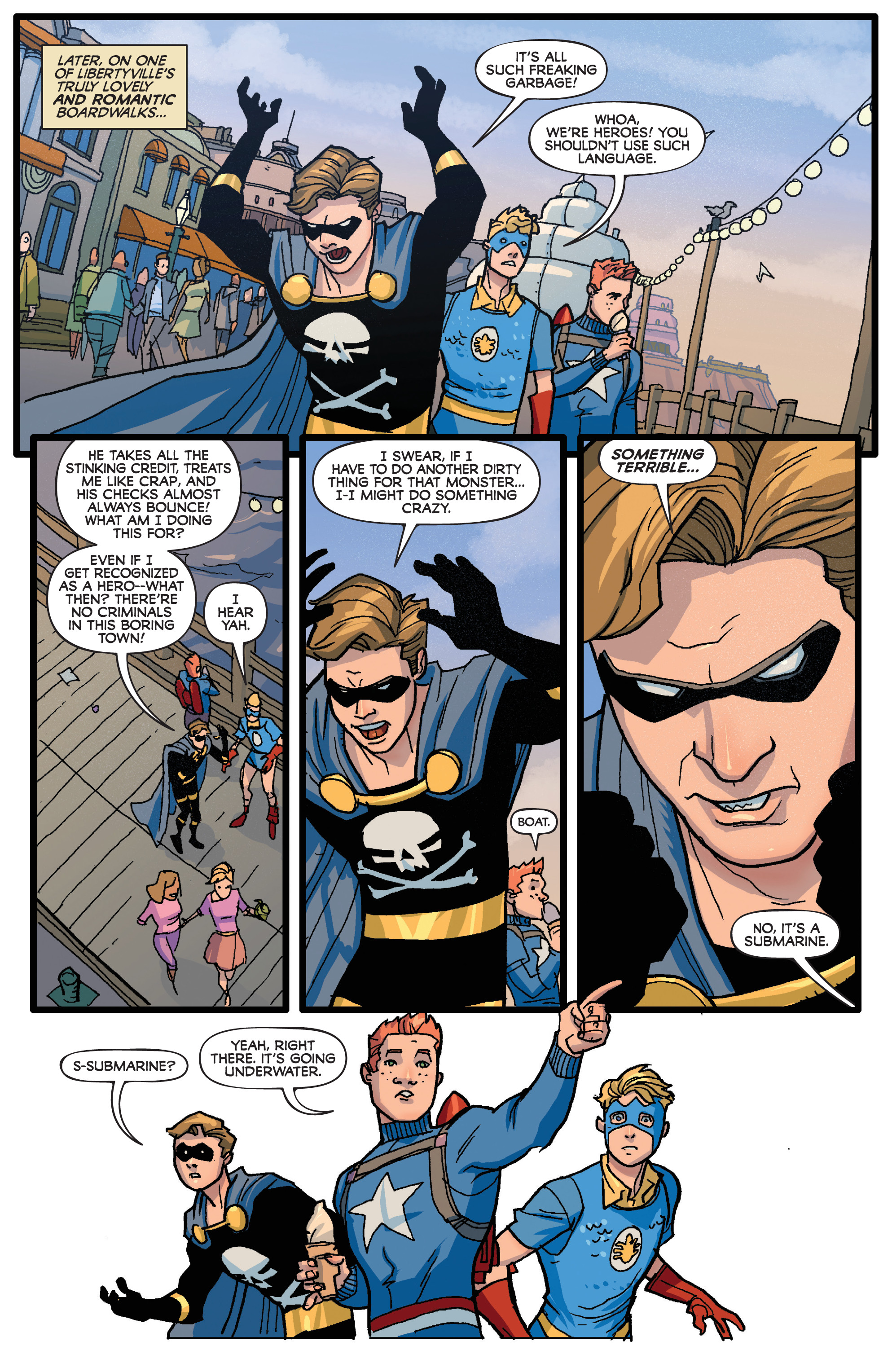 Read online Project Superpowers: Hero Killers comic -  Issue #1 - 16